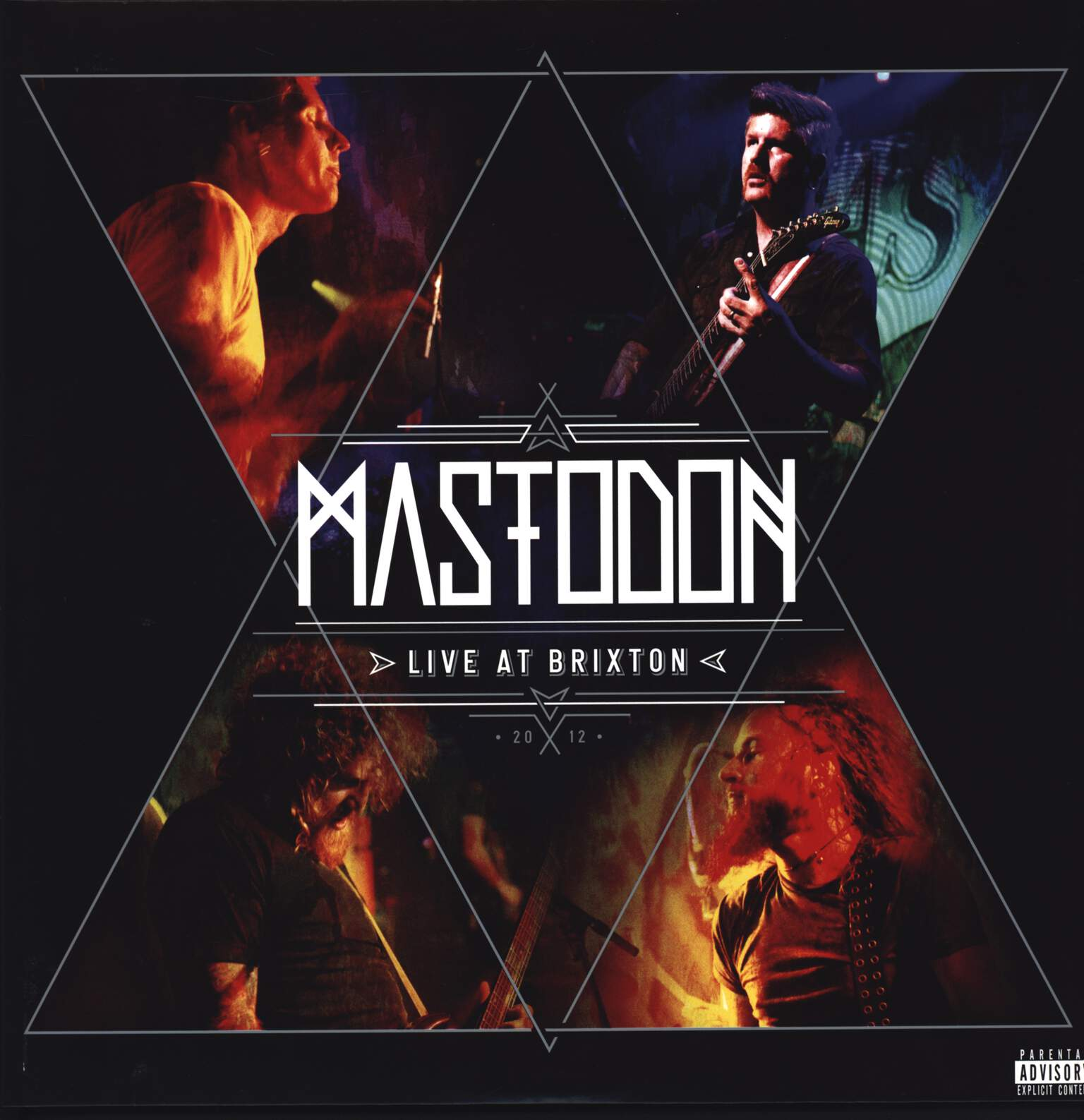 Mastodon: Live At Brixton 2012, LP (Vinyl)