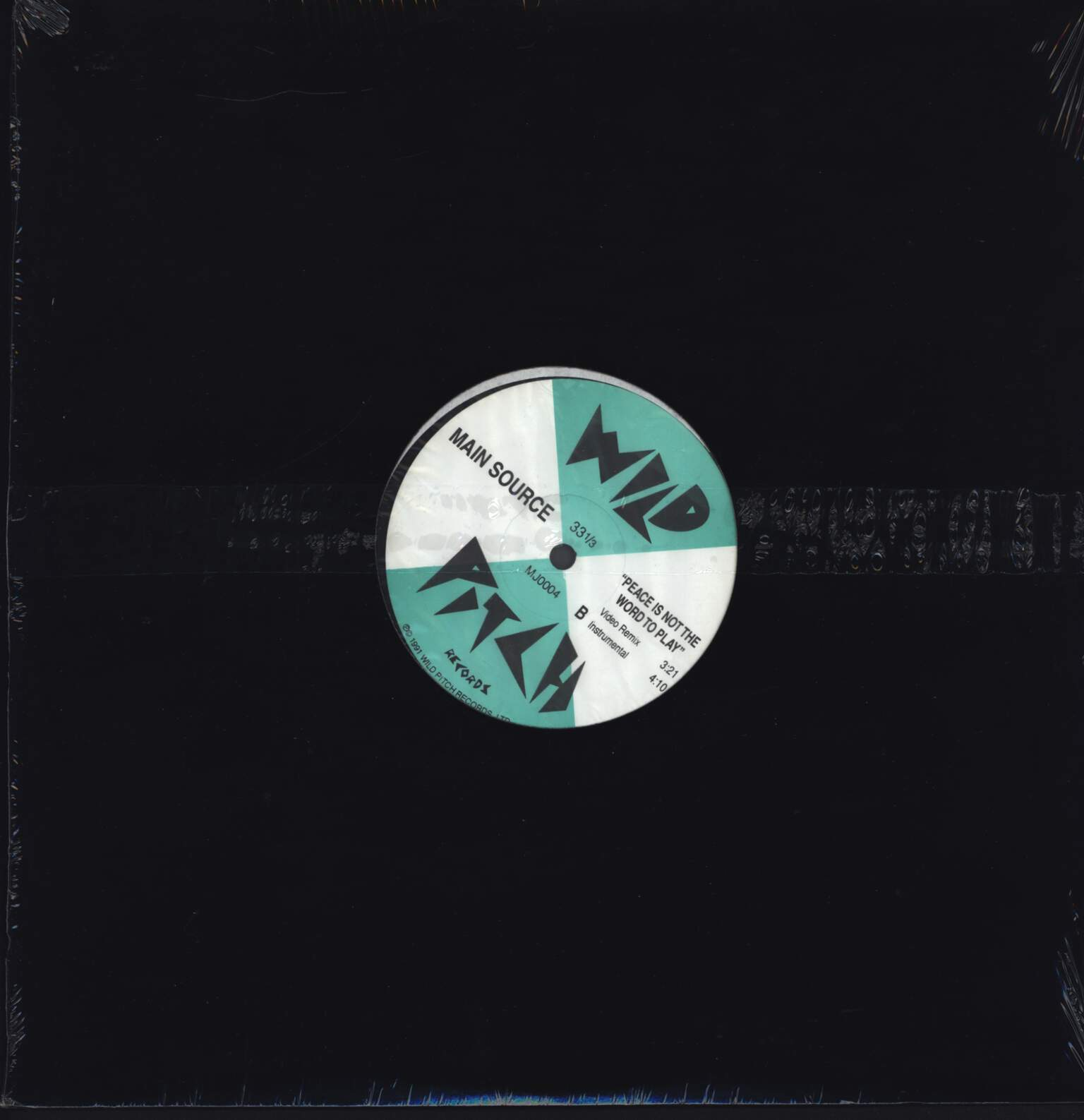 "Main Source: Peace Is Not The Word To Play, 12"" Maxi Single (Vinyl)"