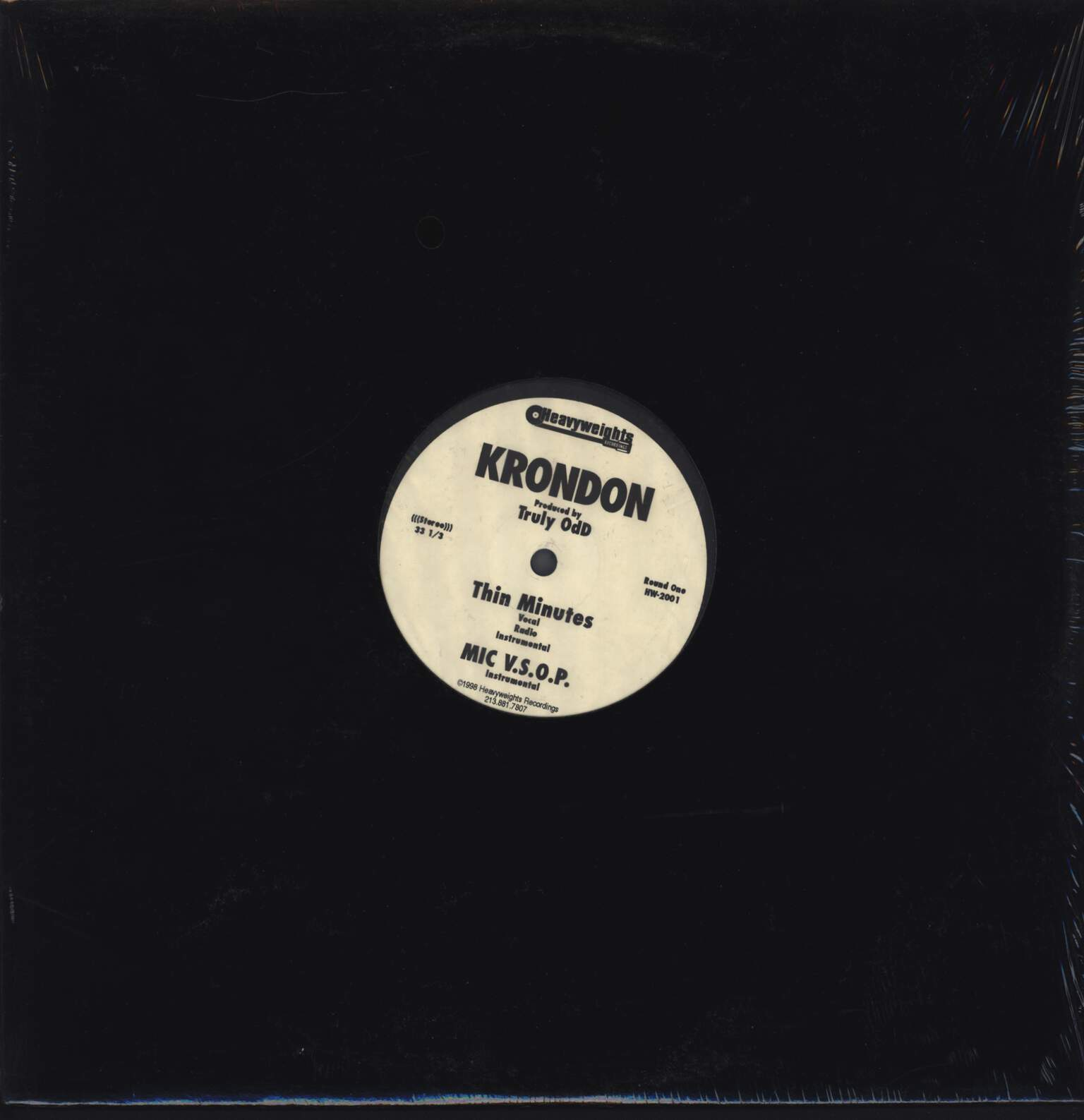 "Krondon: The Rules, 12"" Maxi Single (Vinyl)"