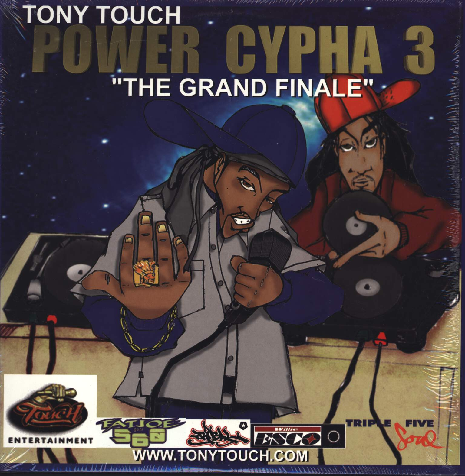 "Tony Touch: Power Cypha 3 ""The Grand Finale"", 12"" Maxi Single (Vinyl)"