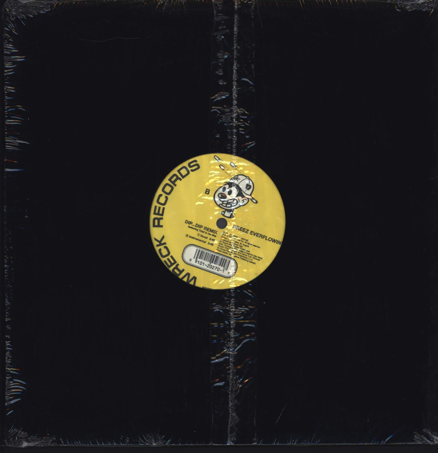 "Breez Evahflowin: I Heard It / Dip Dip Remix, 12"" Maxi Single (Vinyl)"