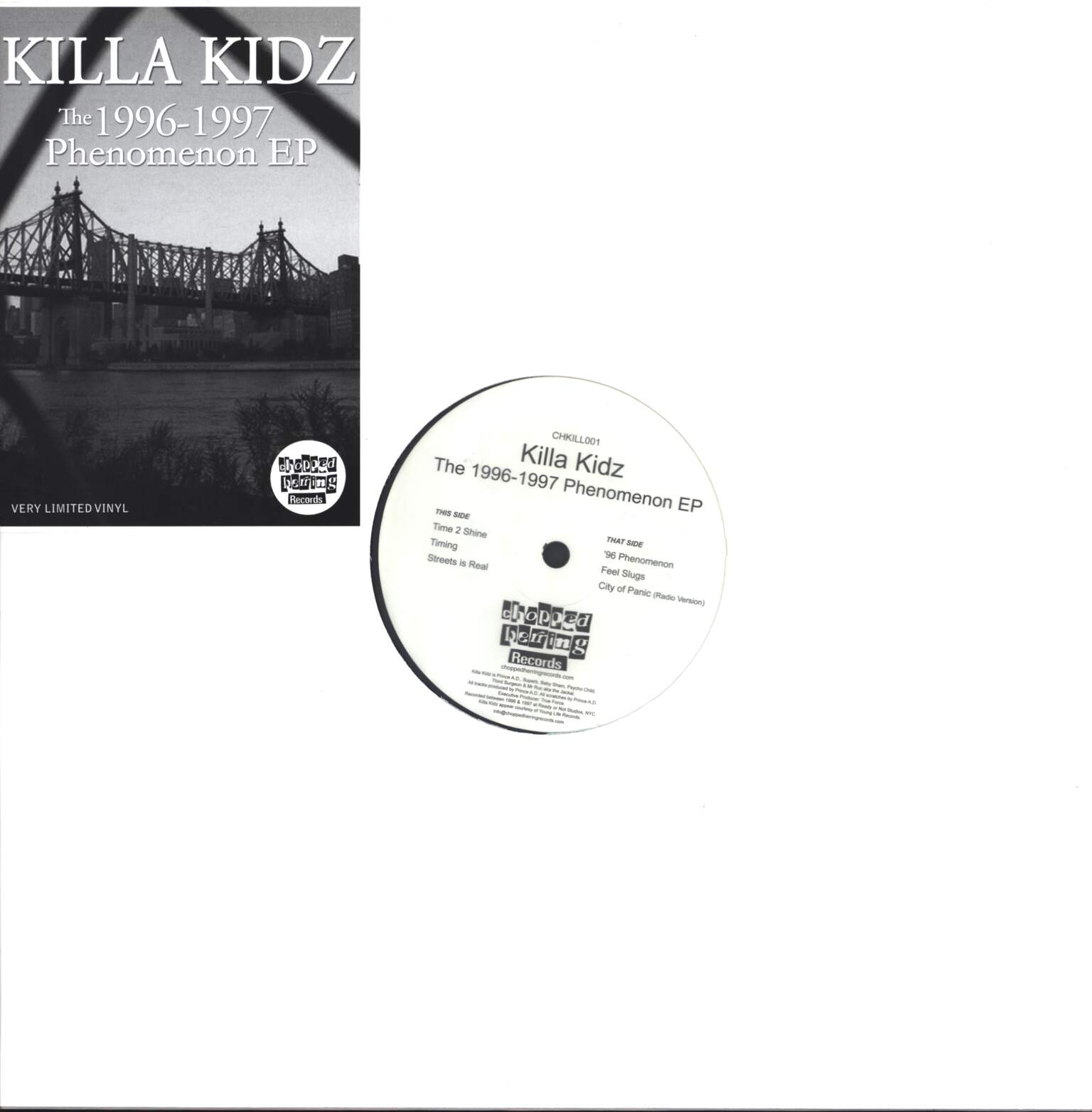 "Killa Kidz: The 1996-1997 Phenomenon EP, 12"" Maxi Single (Vinyl)"