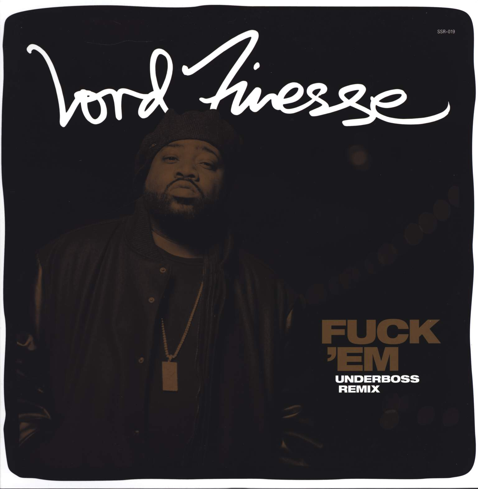 "Lord Finesse: Fuck 'Em (Remix), 12"" Maxi Single (Vinyl)"