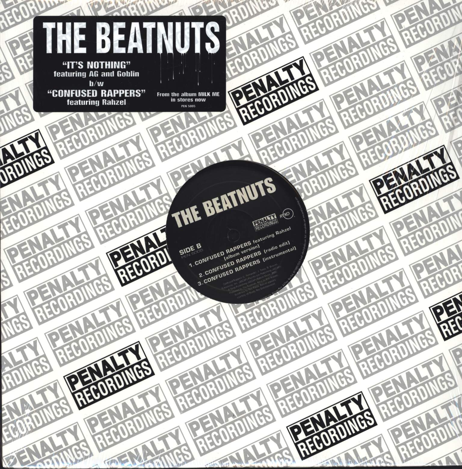 "The Beatnuts: It's Nothing / Confused Rappers, 12"" Maxi Single (Vinyl)"