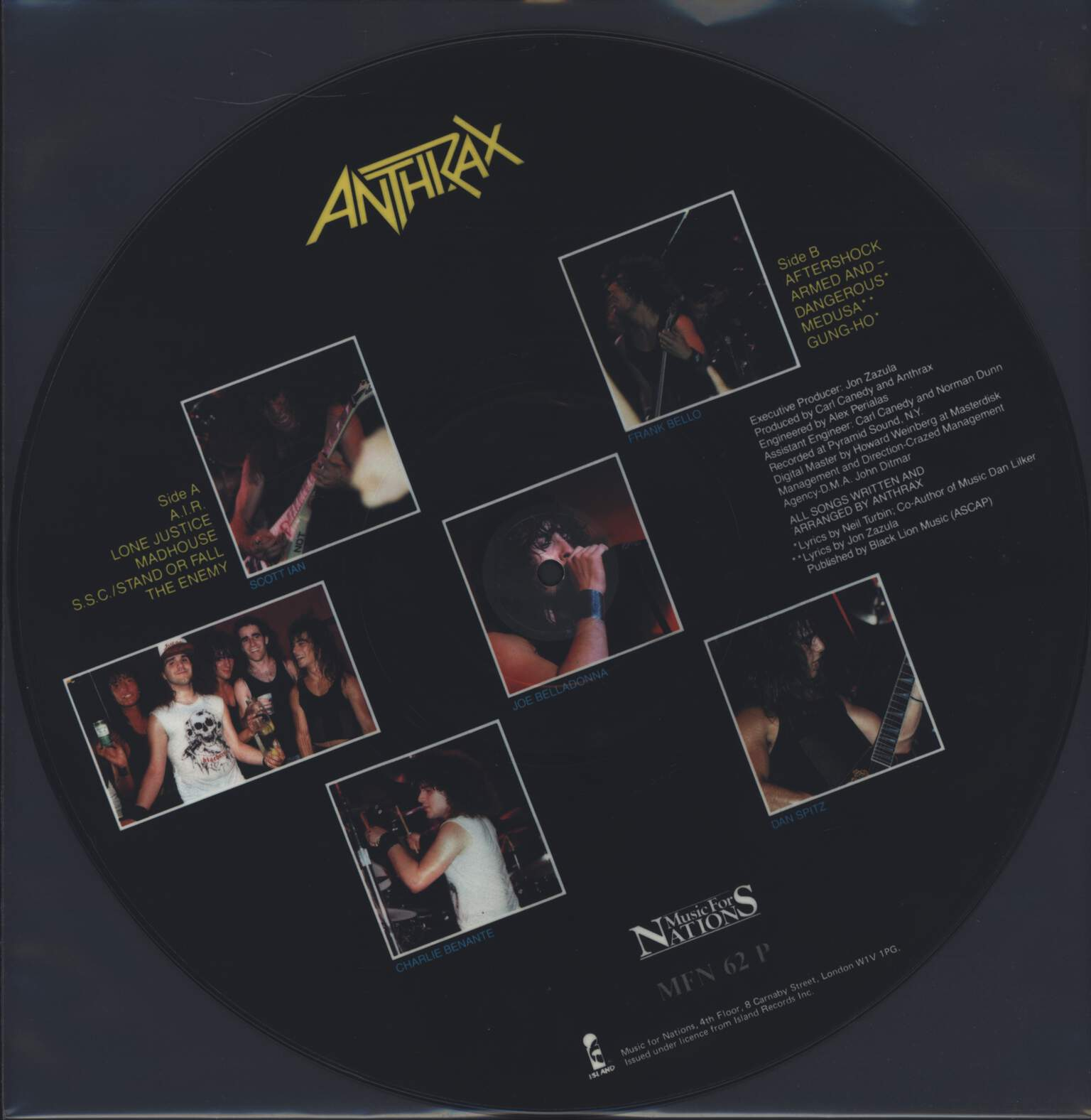Anthrax: Spreading The Disease, LP (Vinyl)