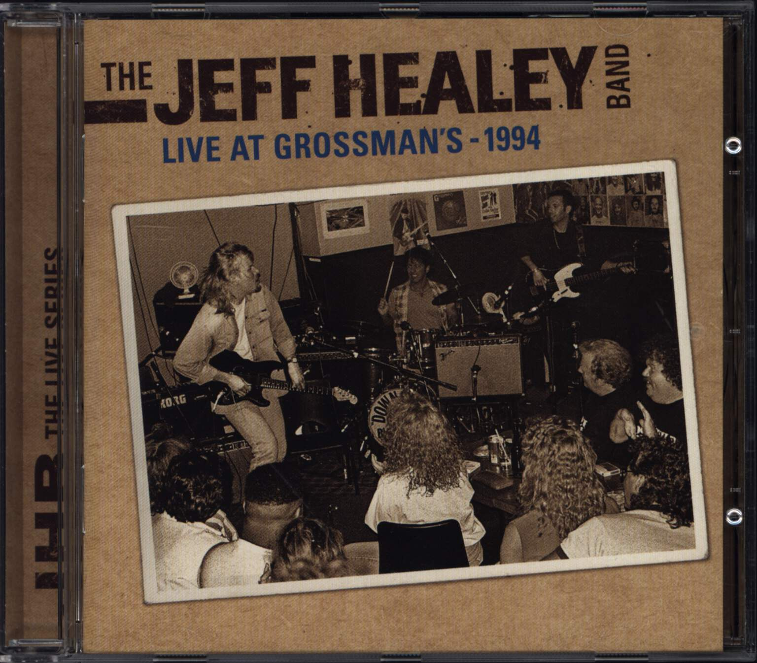 The Jeff Healey Band: Live At Grossman's, CD