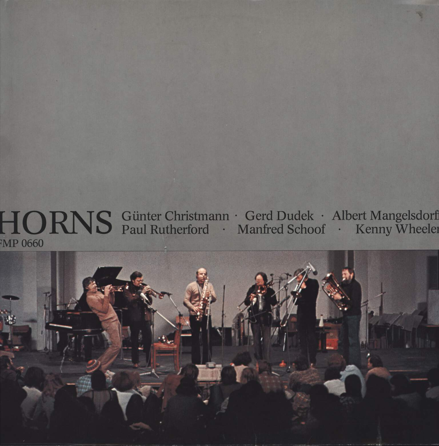 Günter Christmann: Horns, LP (Vinyl)