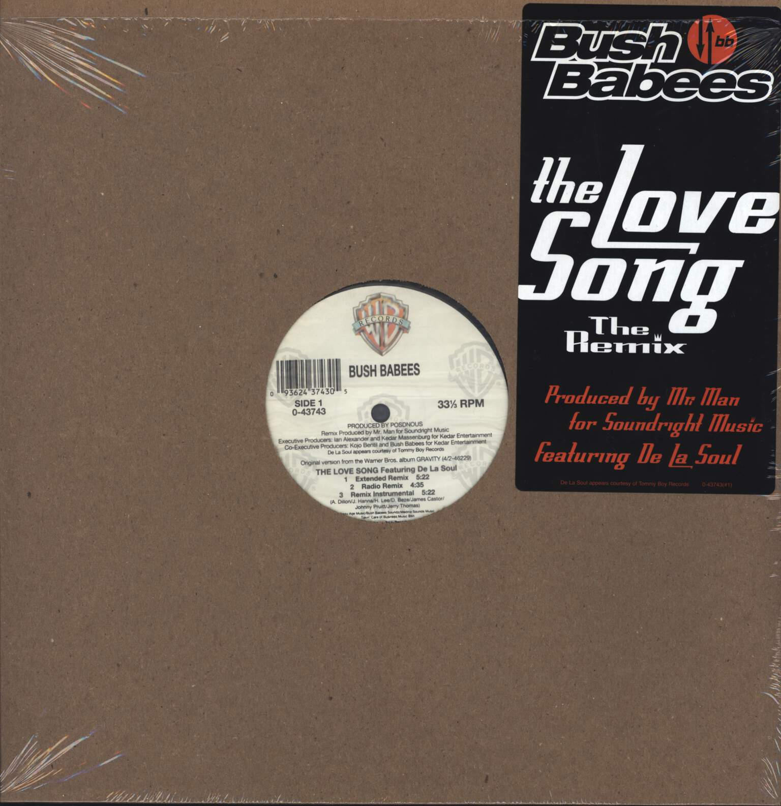 "Da Bush Babees: The Love Song (The Remix), 12"" Maxi Single (Vinyl)"