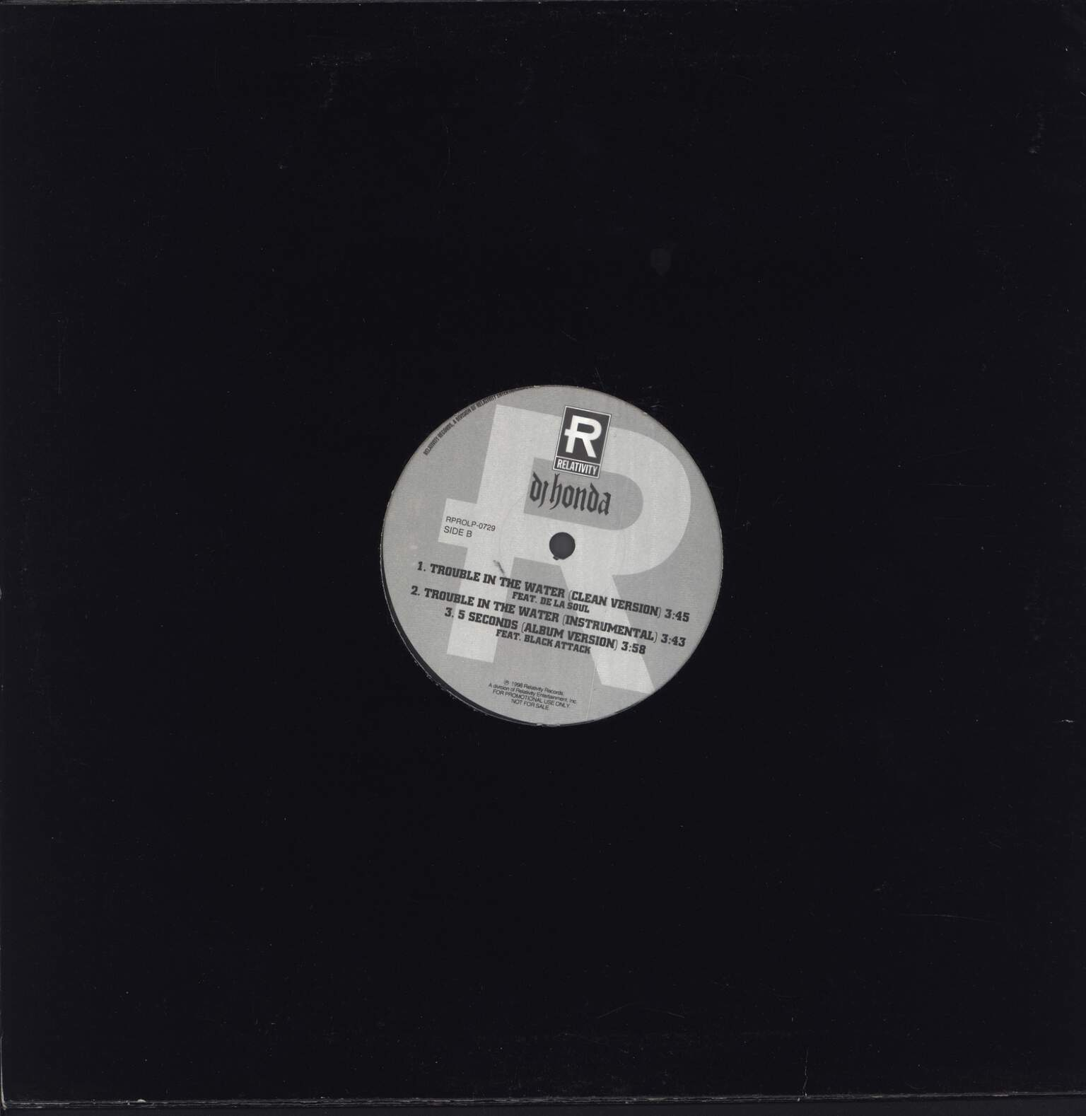 "DJ Honda: On The Mic, 12"" Maxi Single (Vinyl)"