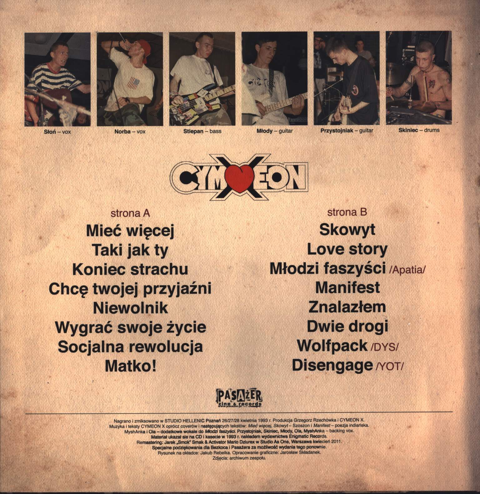 Cymeon X: Free Your Mind Free Your Body, LP (Vinyl)