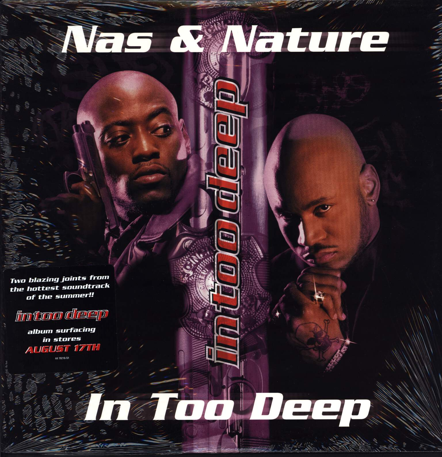 "Nas: In Too Deep / The Specialist, 12"" Maxi Single (Vinyl)"