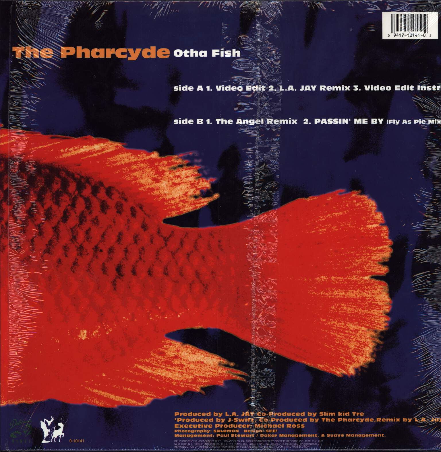 "The Pharcyde: Otha Fish, 12"" Maxi Single (Vinyl)"