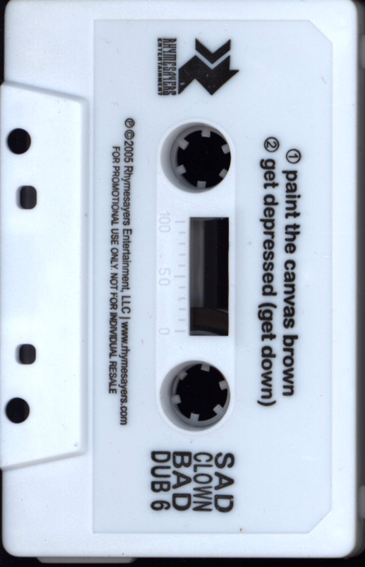 Atmosphere: Sad Clown Bad Dub 5 / Sad Clown Bad Dub 6, Compact Cassette