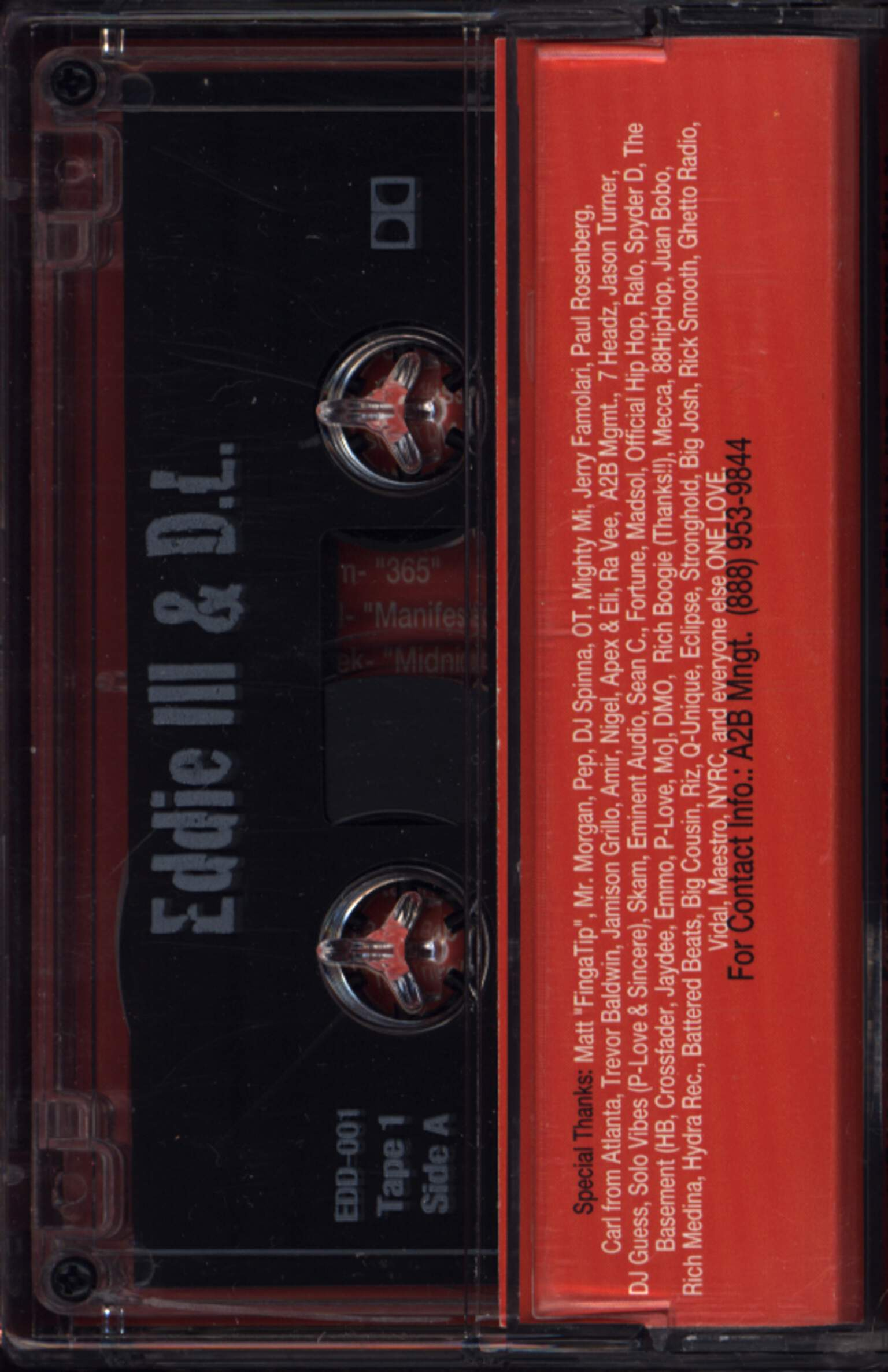 Eddie Ill And D.L.: A Trip Below, Compact Cassette