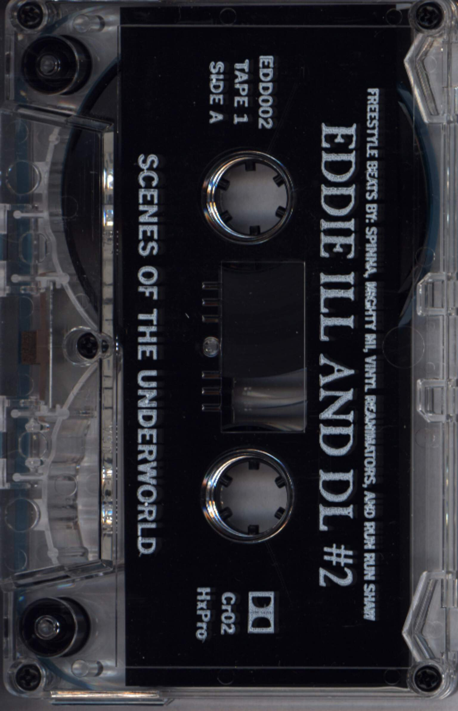 Eddie Ill And D.L.: Scenes Of The Underworld, Compact Cassette