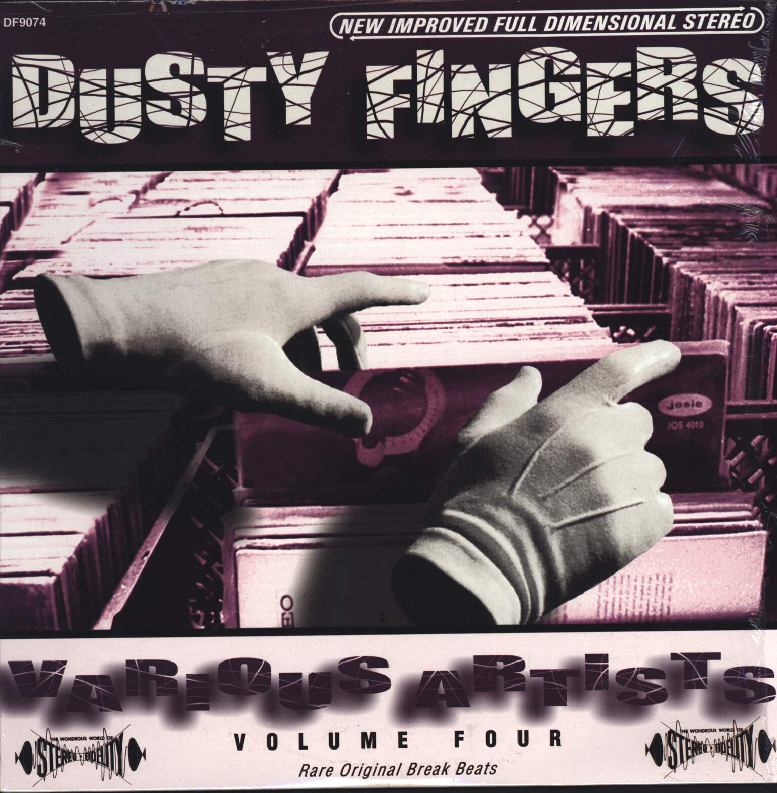 Various: Dusty Fingers Volume Four, LP (Vinyl)