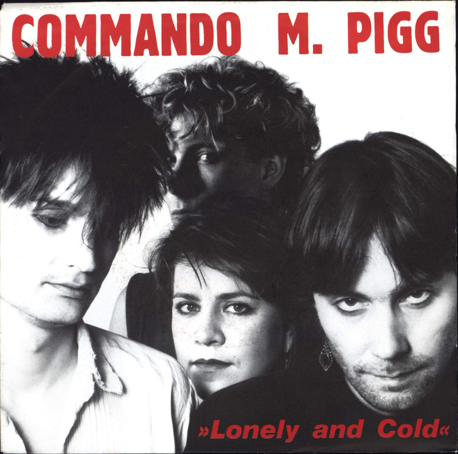 "Commando M. Pigg: Lonely And Cold, 7"" Single (Vinyl)"