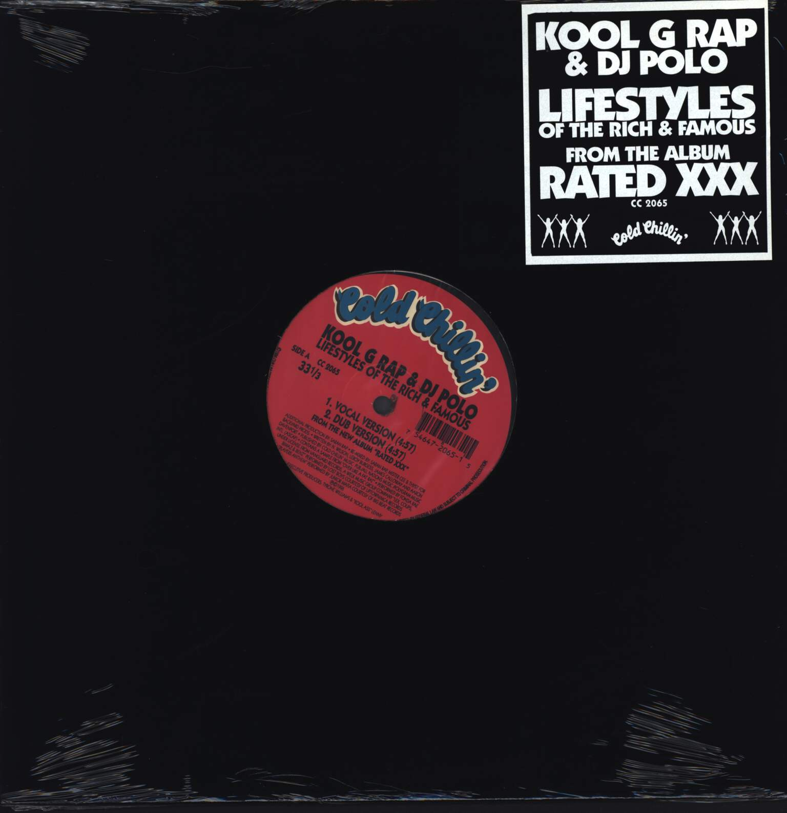 "Kool G Rap & D.J. Polo: Lifestyles Of The Rich & Famous, 12"" Maxi Single (Vinyl)"