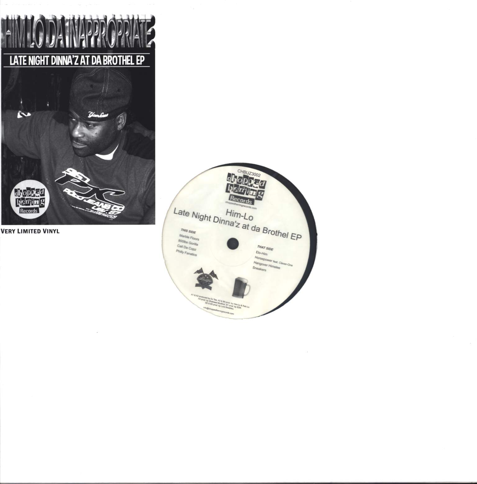 "Him-Lo: Late Night Dinna'z At Da Brothel EP, 12"" Maxi Single (Vinyl)"