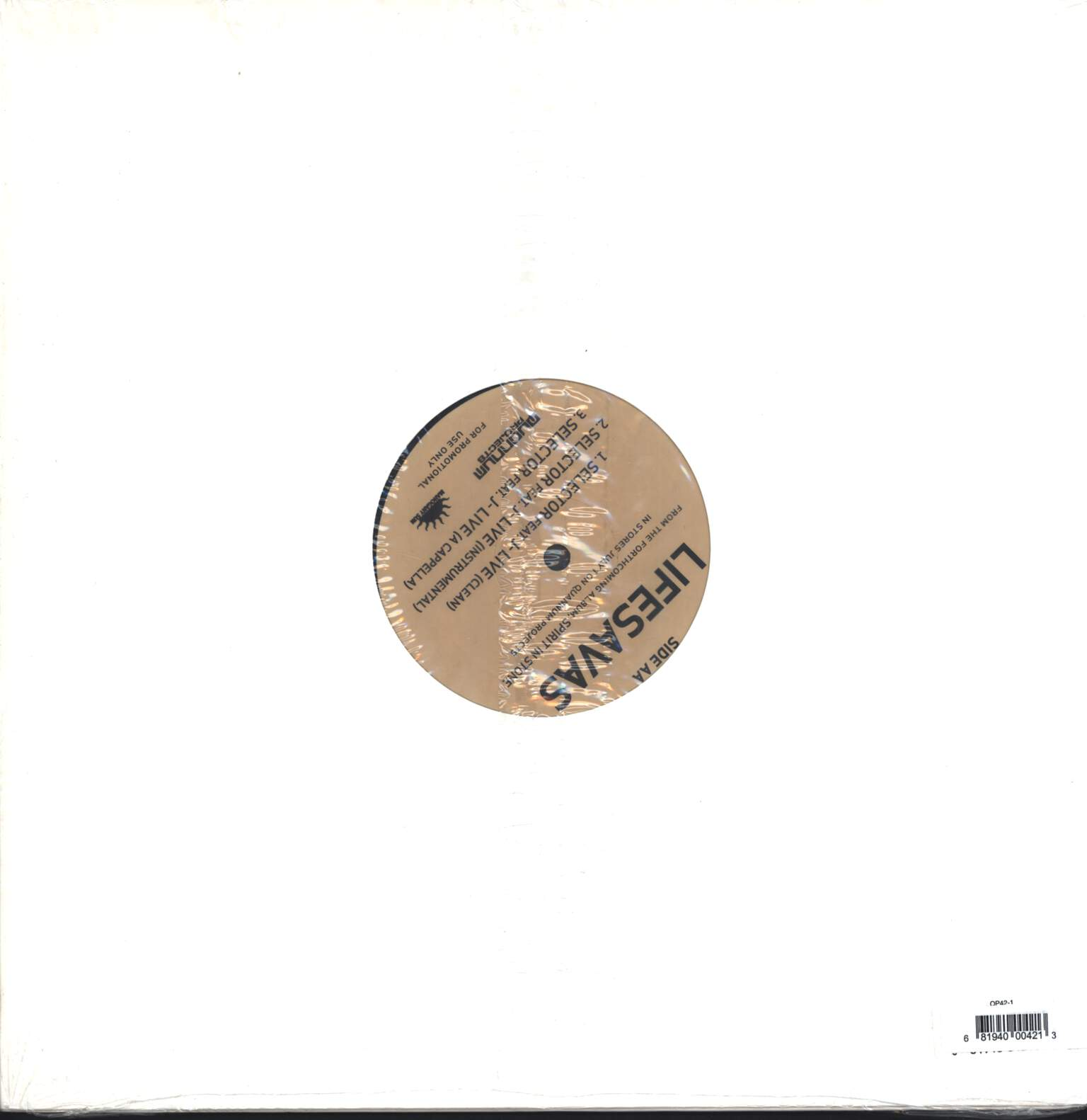 "Lifesavas: Fever / Selector, 12"" Maxi Single (Vinyl)"