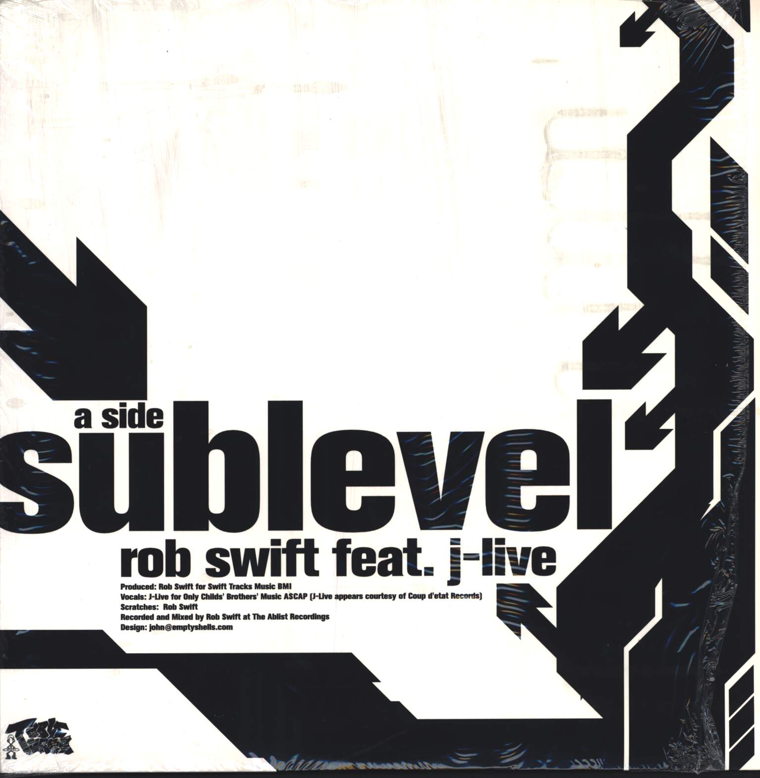 "Rob Swift: Sub Level, 12"" Maxi Single (Vinyl)"