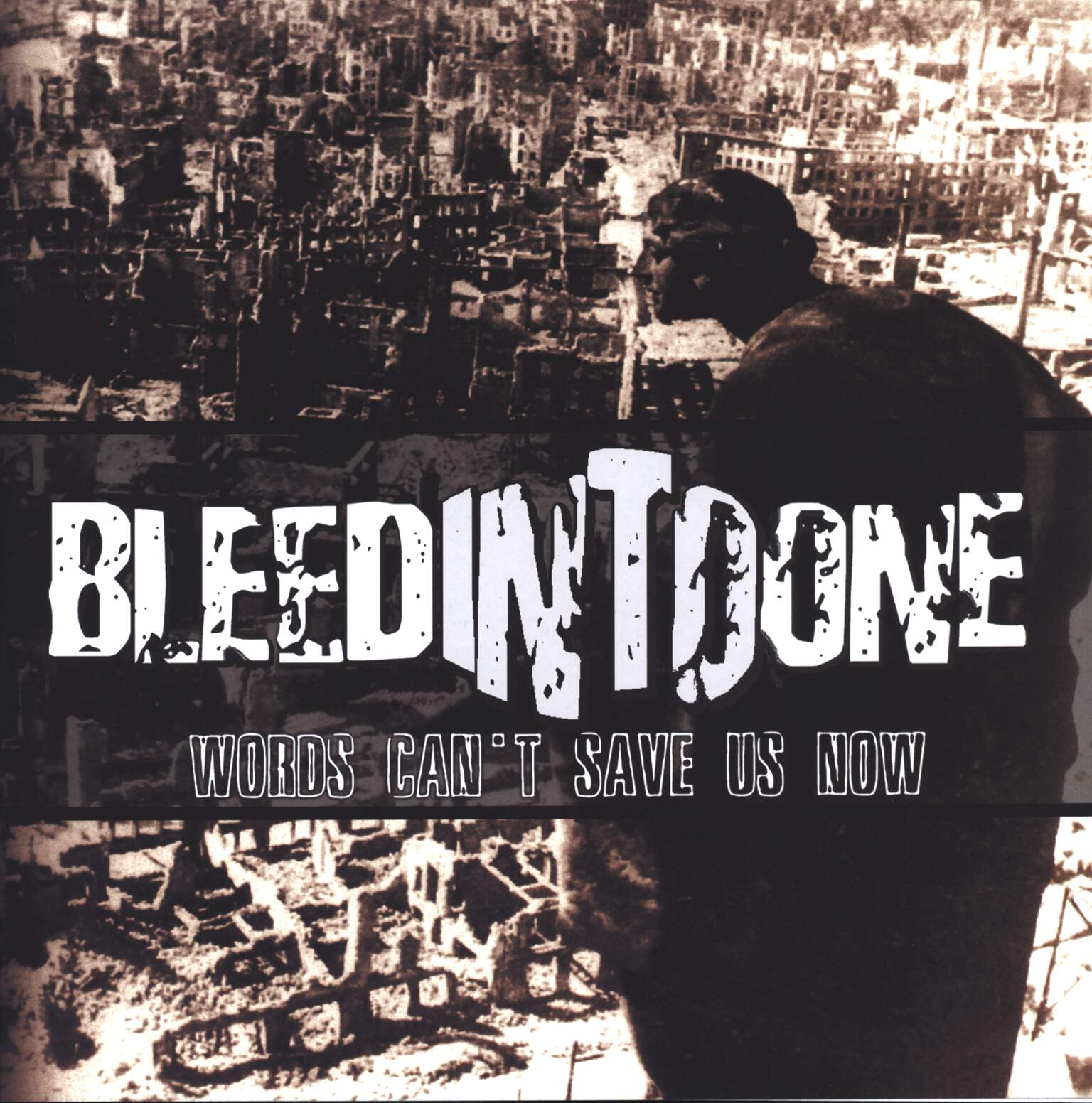 "Bleed Into One: Words Can't Save Us Now, 12"" Maxi Single (Vinyl)"