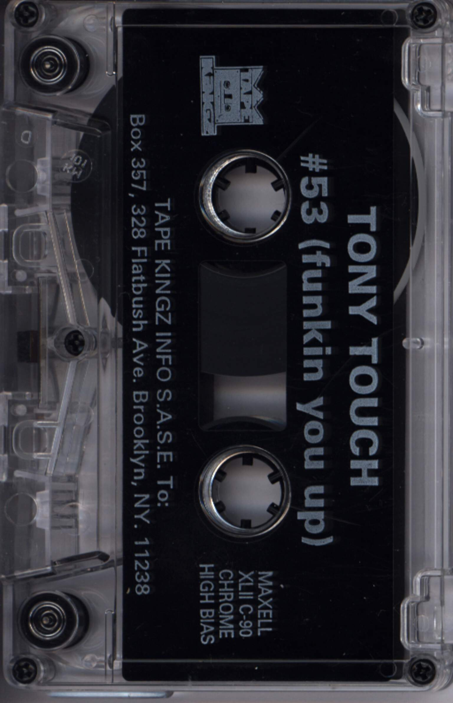 Tony Touch: #53 - Funkin' You Up, Compact Cassette