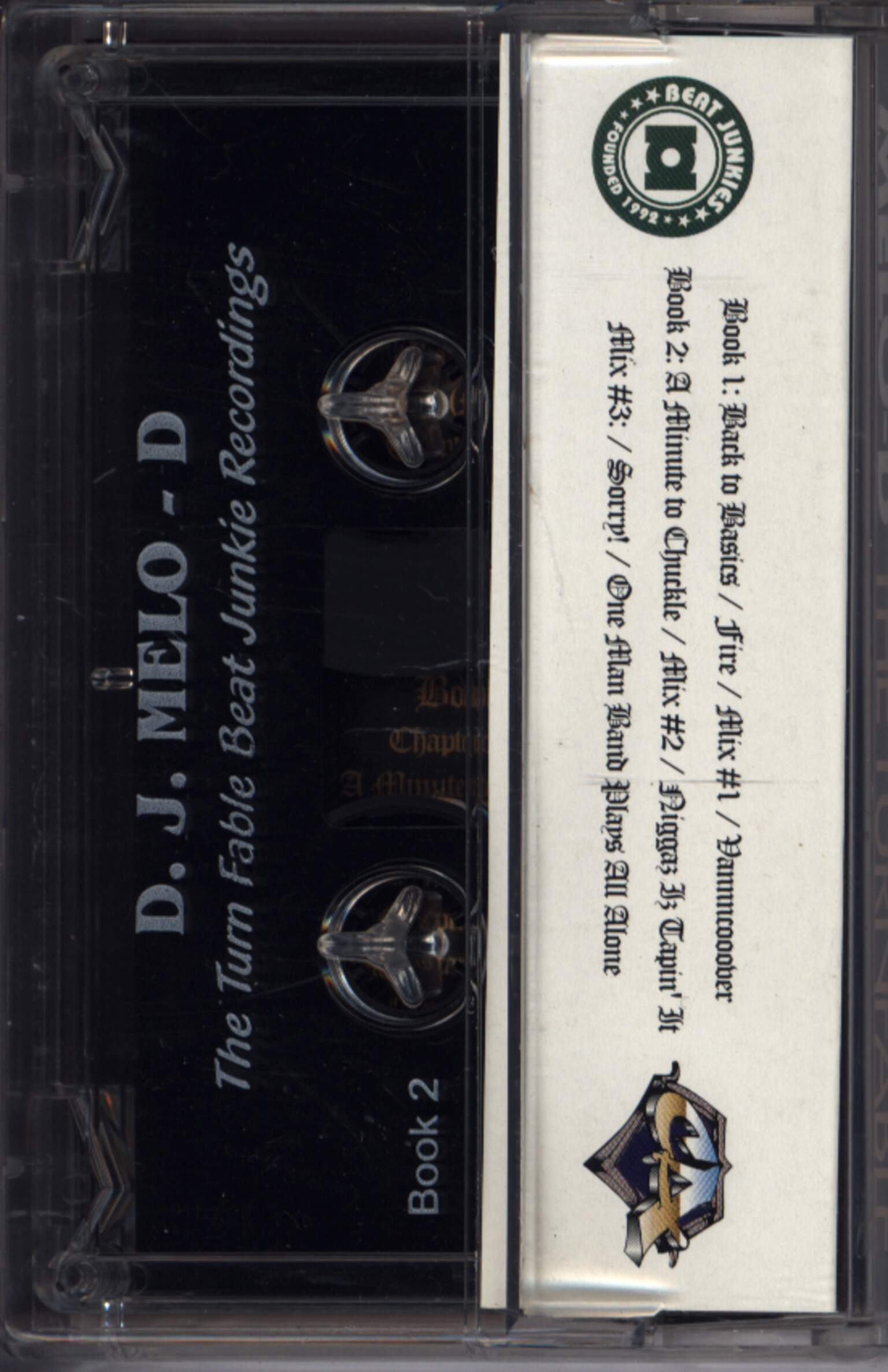 Melo-D: The Turn Fable, Compact Cassette