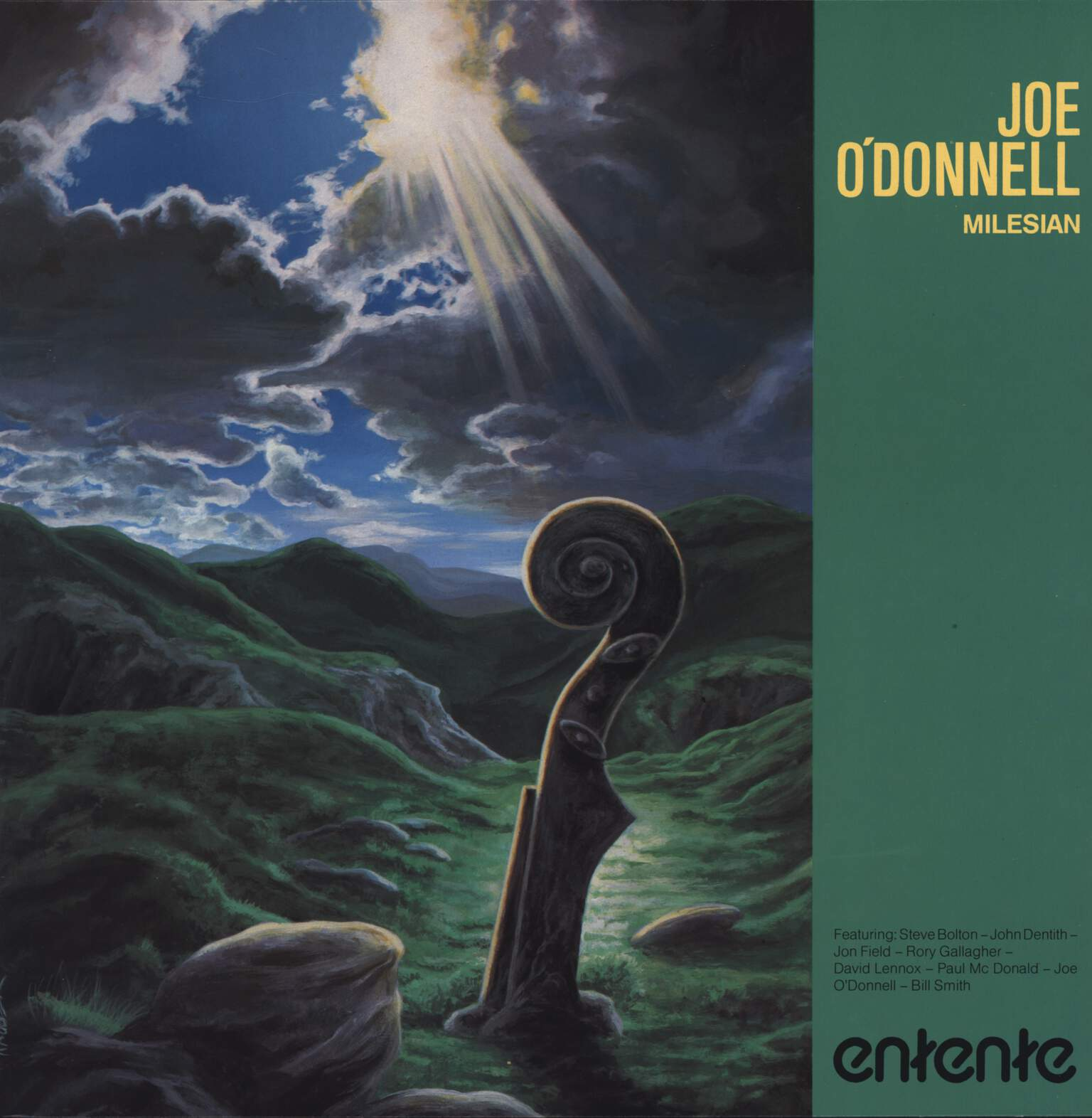 Joe O'Donnell: Milesian, LP (Vinyl)