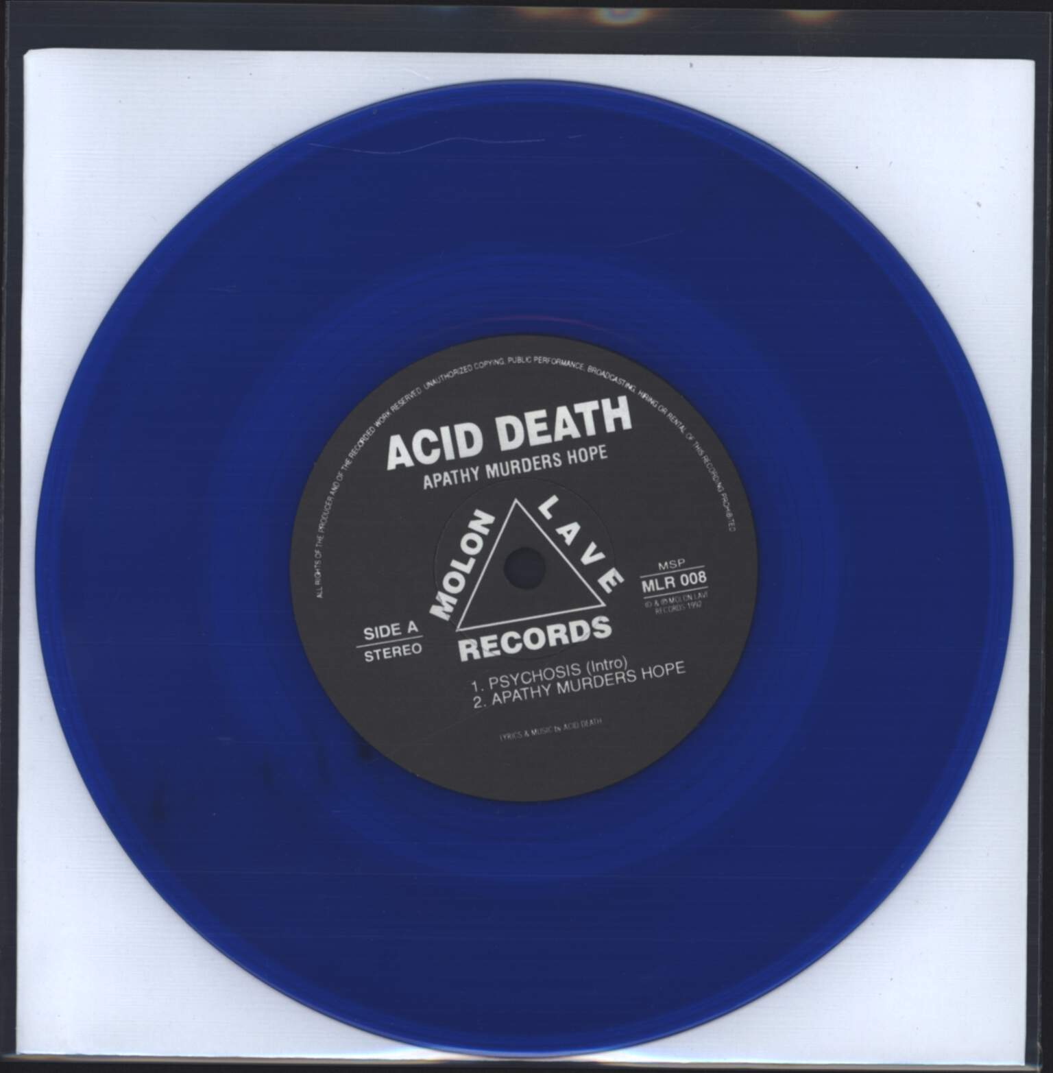 "Acid Death: Apathy Murders Hope, 7"" Single (Vinyl)"