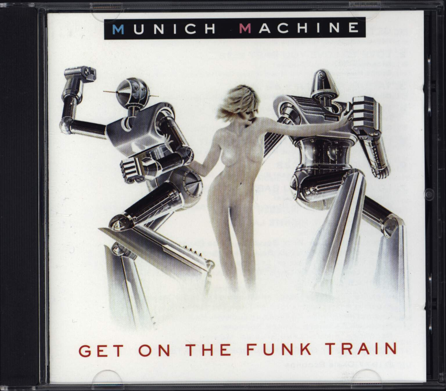 Munich Machine: Get On The Funk Train, CD