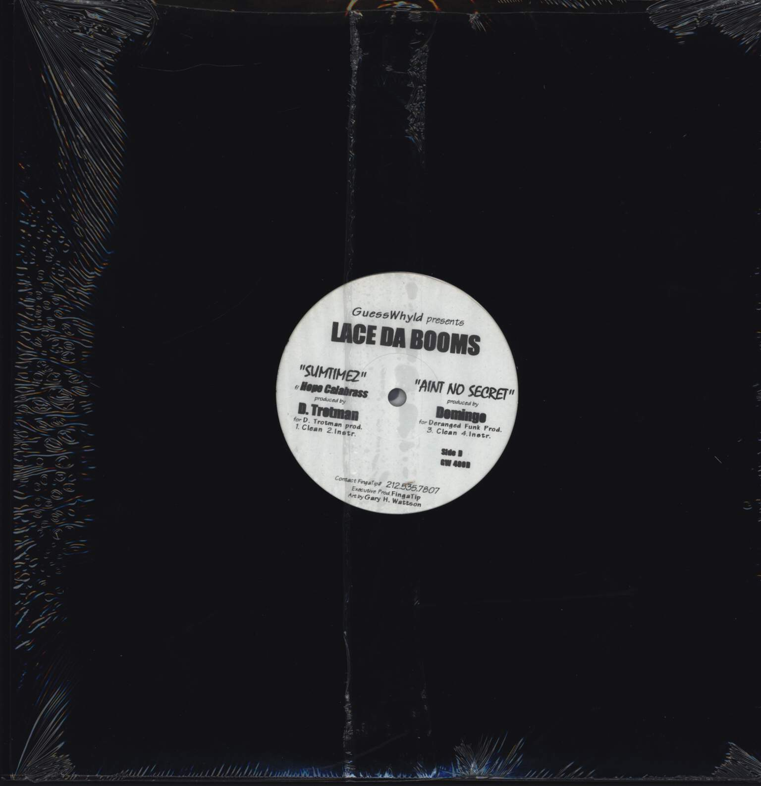 "Lace Da Booms: Untitled, 12"" Maxi Single (Vinyl)"