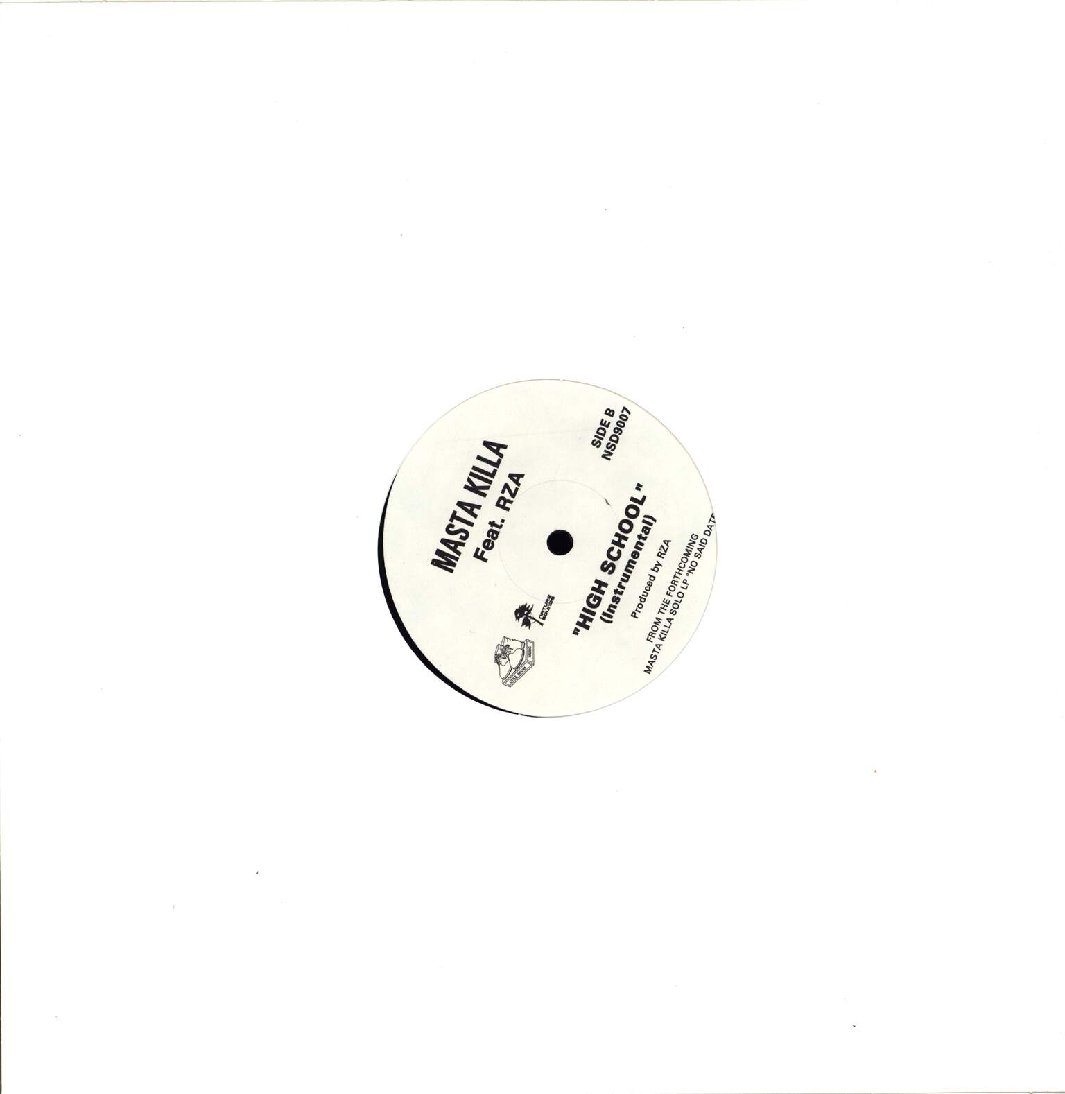 "Masta Killa: High School, 12"" Maxi Single (Vinyl)"