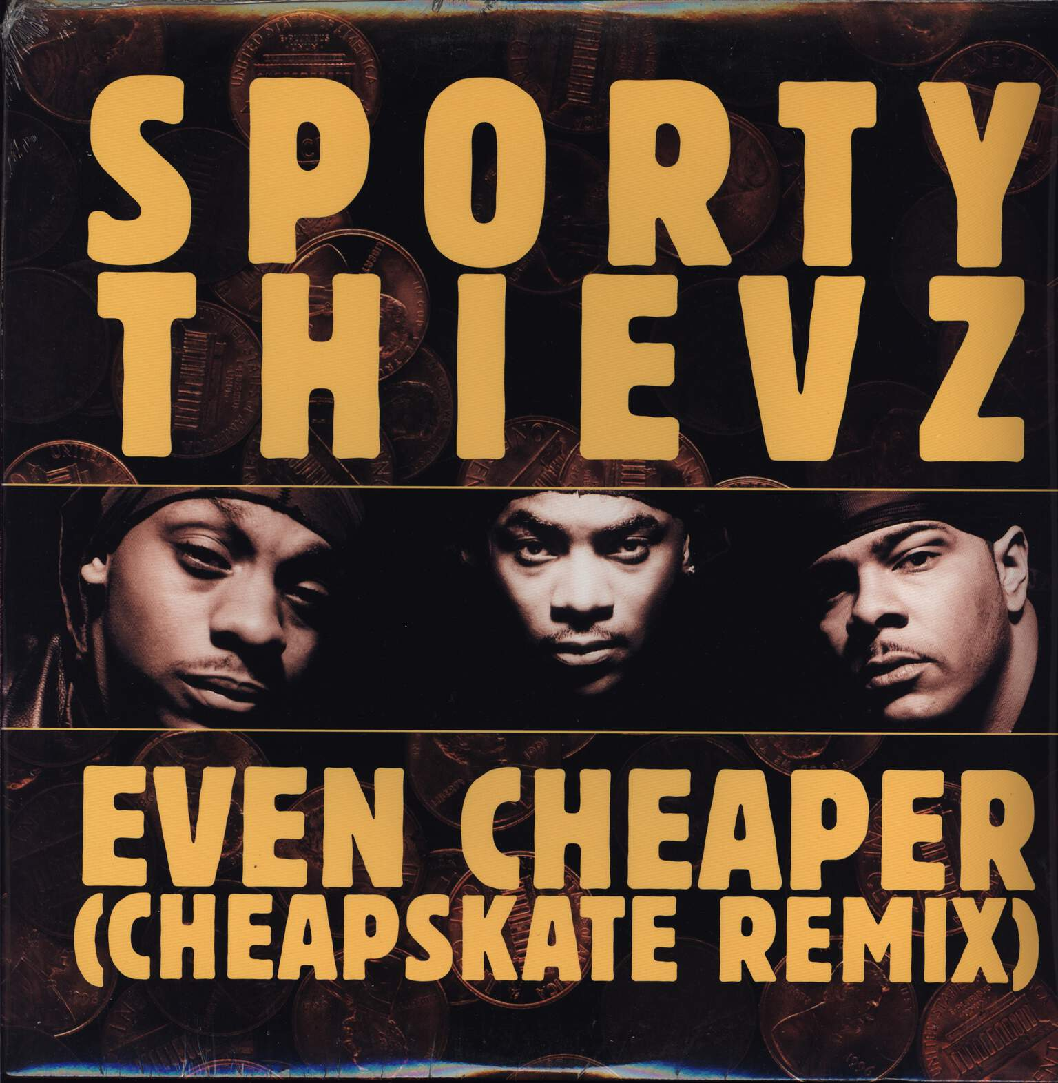"Sporty Thievz: Even Cheaper (Cheapskate Remix), 12"" Maxi Single (Vinyl)"