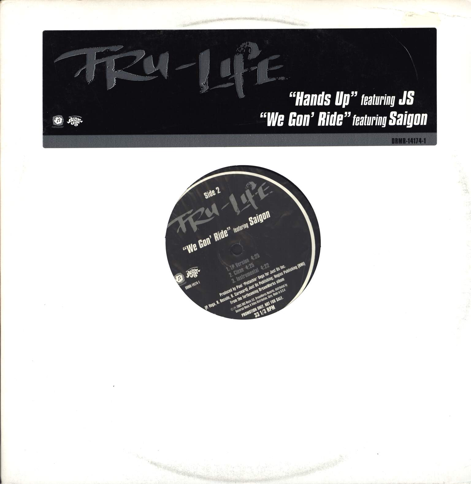 "Tru-Life: Hands Up, 12"" Maxi Single (Vinyl)"