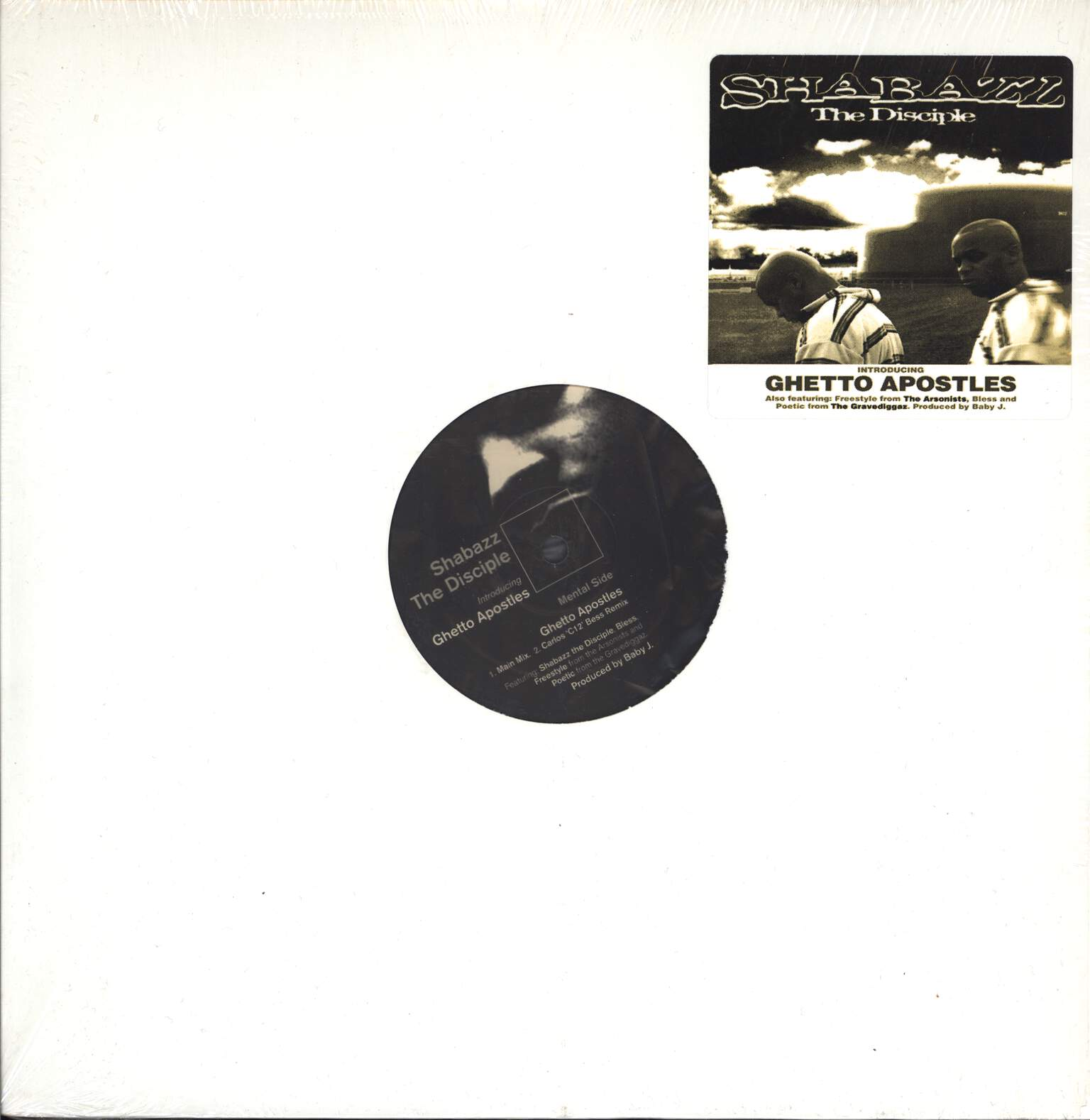 "Shabazz the Disciple: Introducing: Ghetto Apostles, 12"" Maxi Single (Vinyl)"
