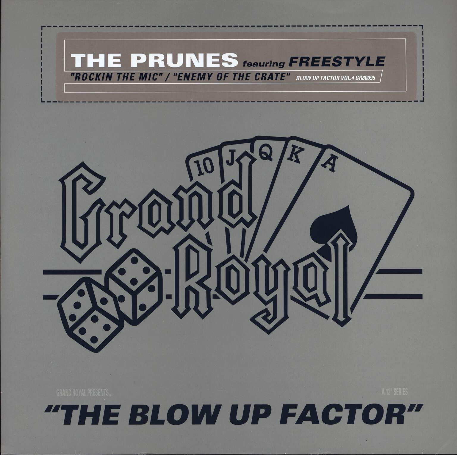 "The Prunes: Blow Up Factor Vol.4, 12"" Maxi Single (Vinyl)"