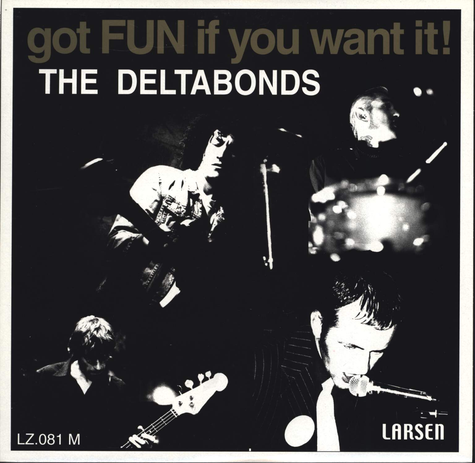 "The Deltabonds: Got Fun If You Want It!, 10"" Vinyl EP"