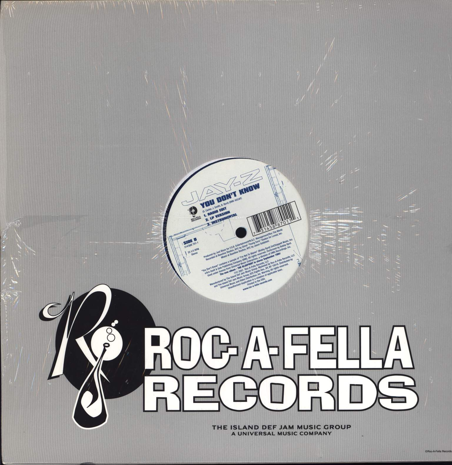 "Jay-Z: IZZO [H.O.V.A.] / You Don't Know, 12"" Maxi Single (Vinyl)"