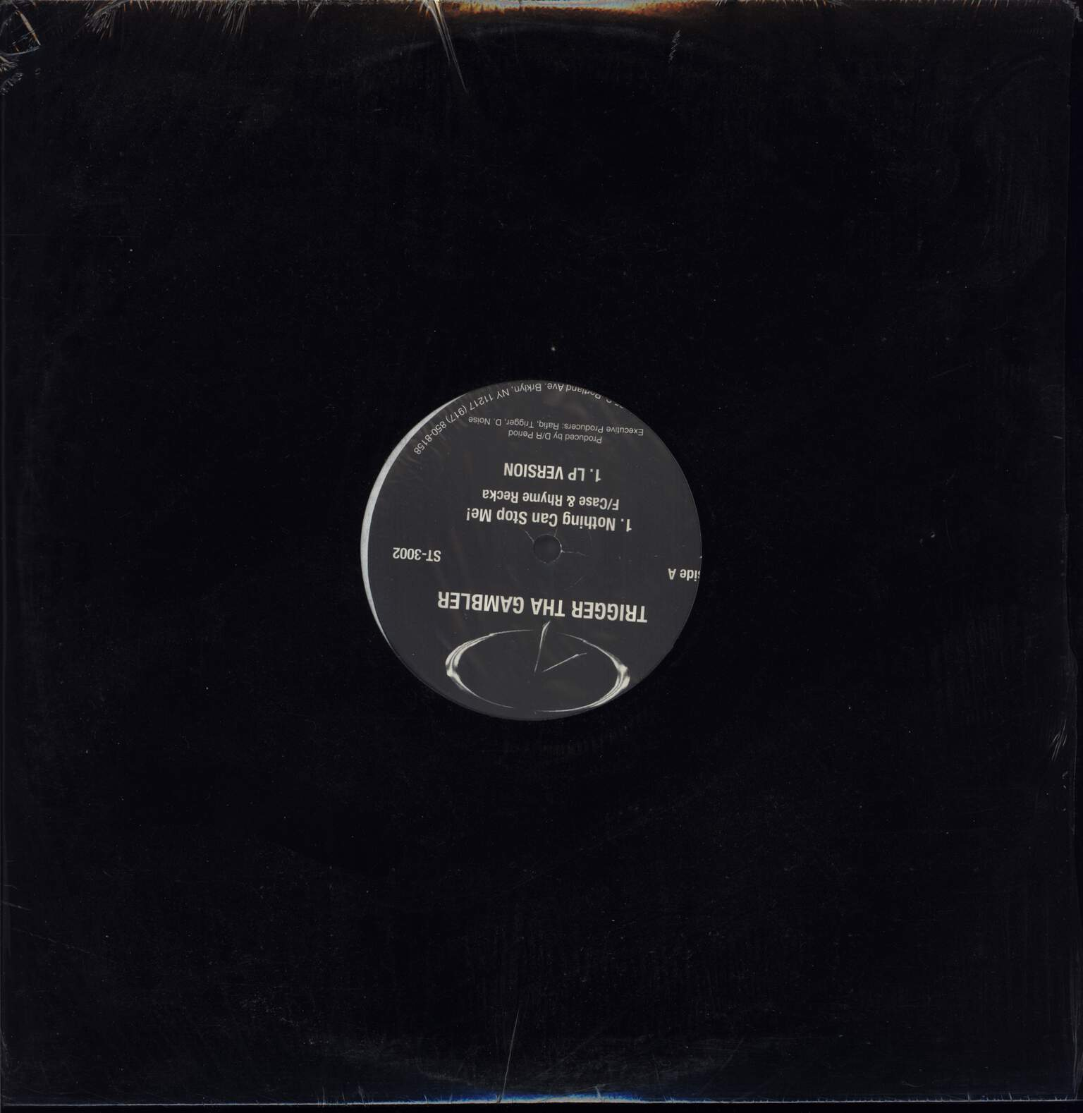 "Trigger Tha Gambler: Nothing Can Stop Me, 12"" Maxi Single (Vinyl)"