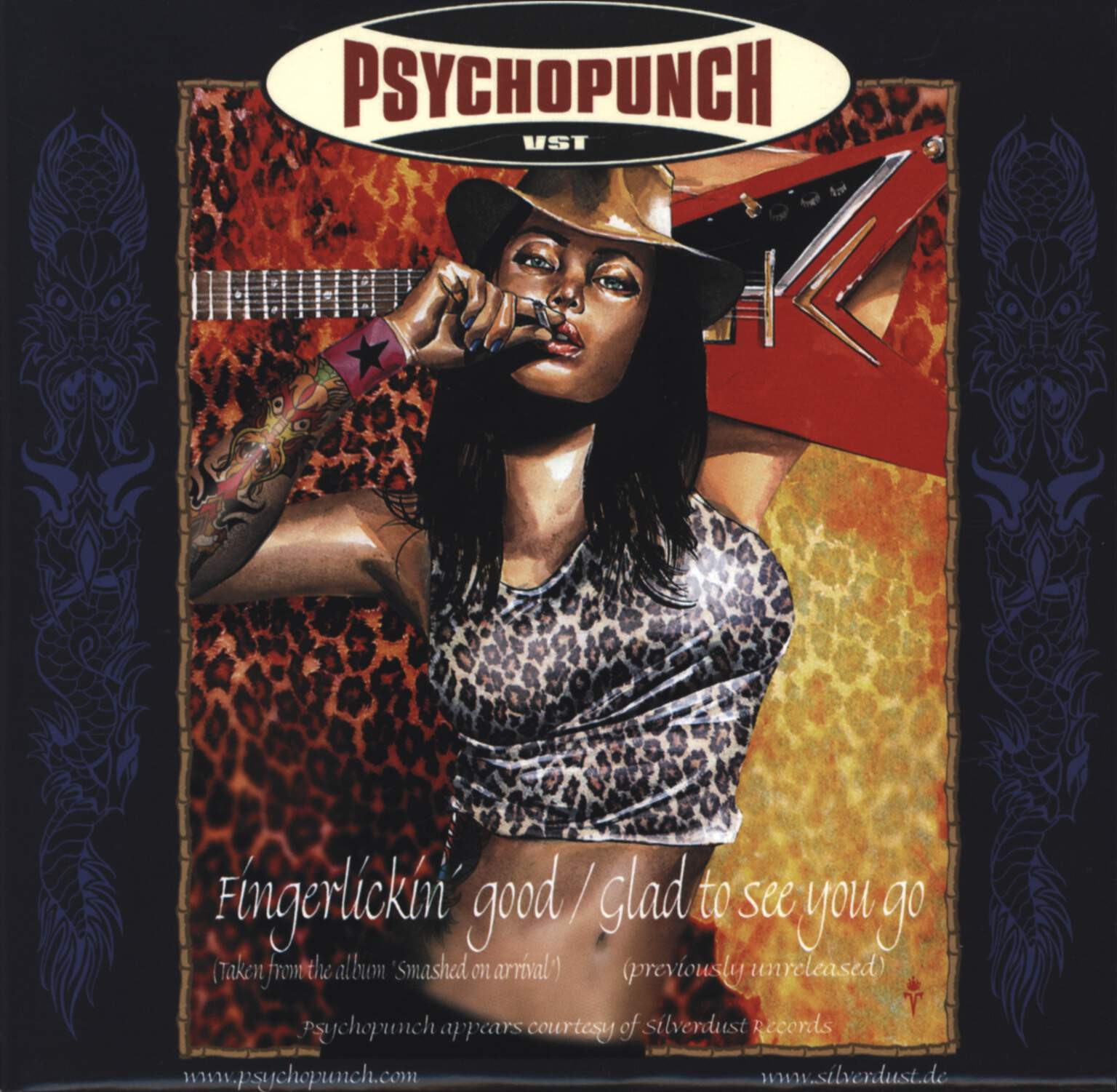 "Psychopunch: Psychopunch / Boozed, 7"" Single (Vinyl)"