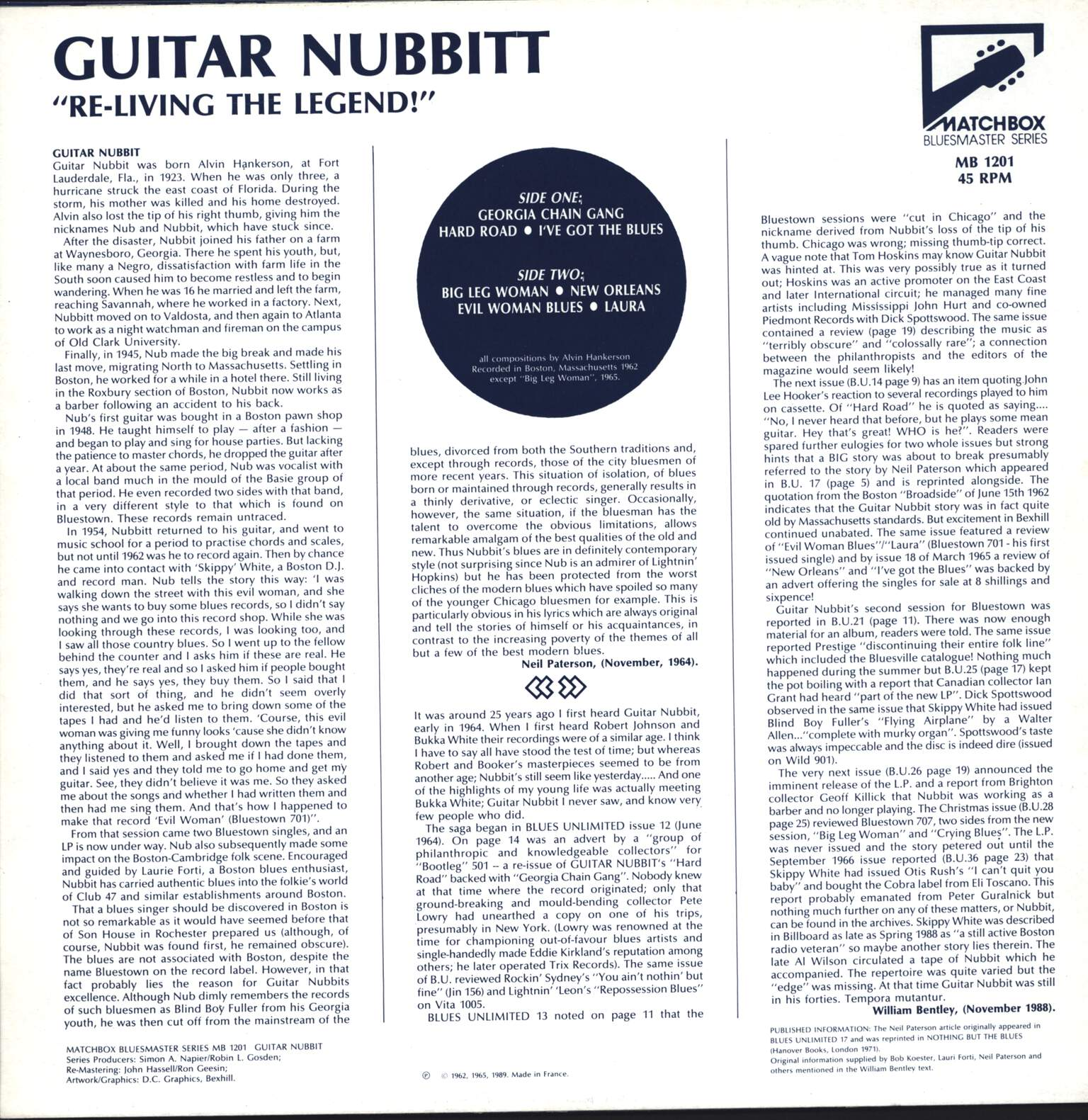 Guitar Nubbit: Re-living The Legend!, LP (Vinyl)