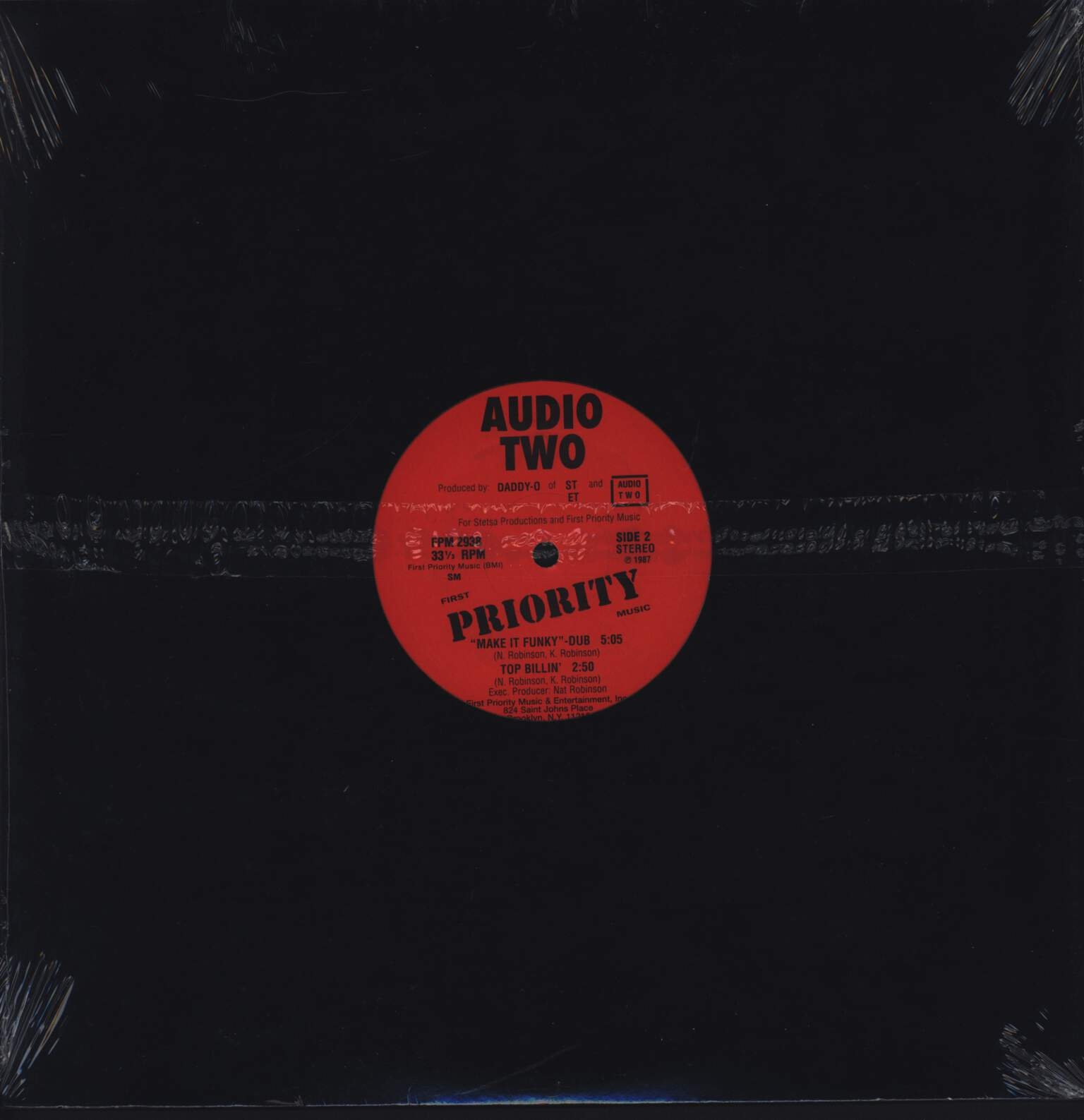 "Audio Two: Make It Funky, 12"" Maxi Single (Vinyl)"