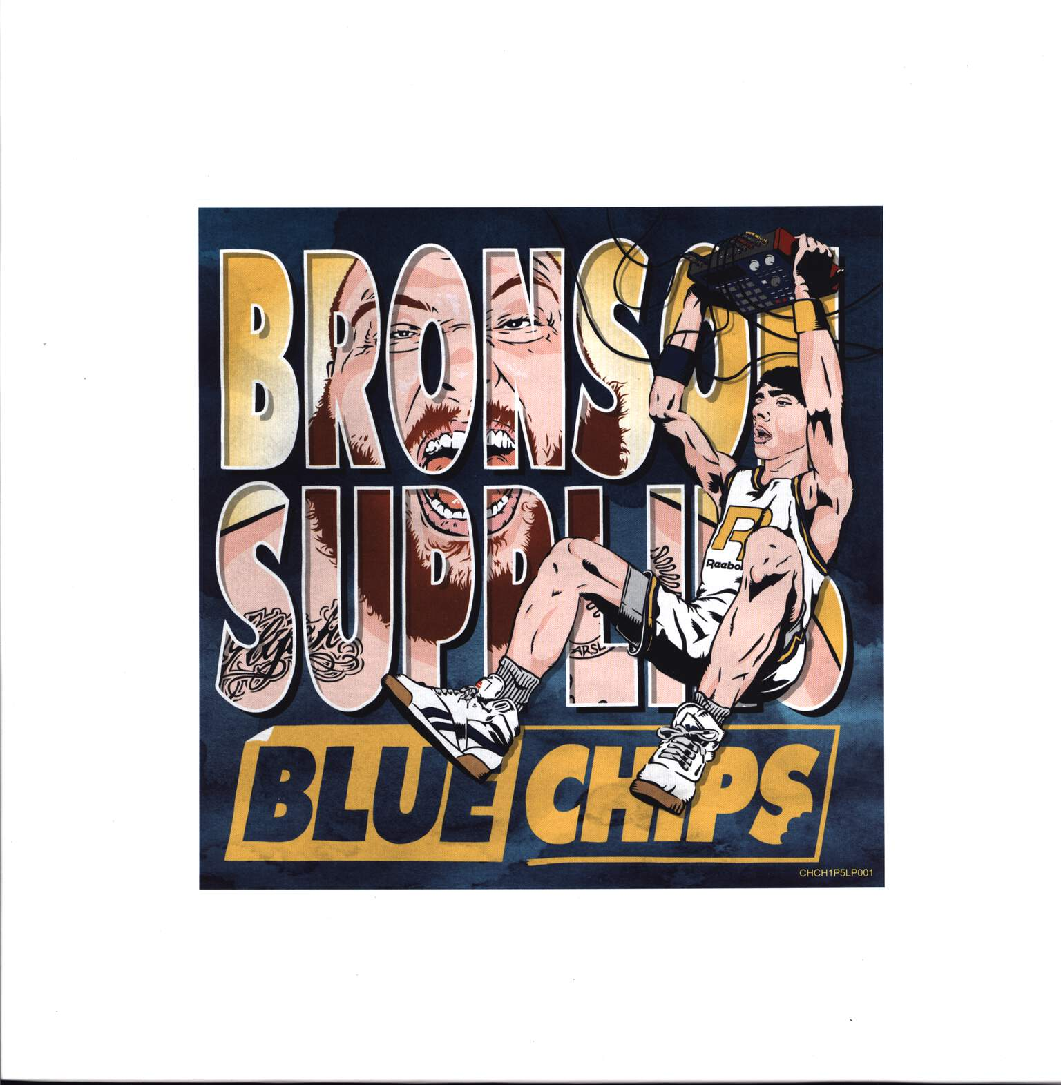 Action Bronson: Blue Chips, LP (Vinyl)