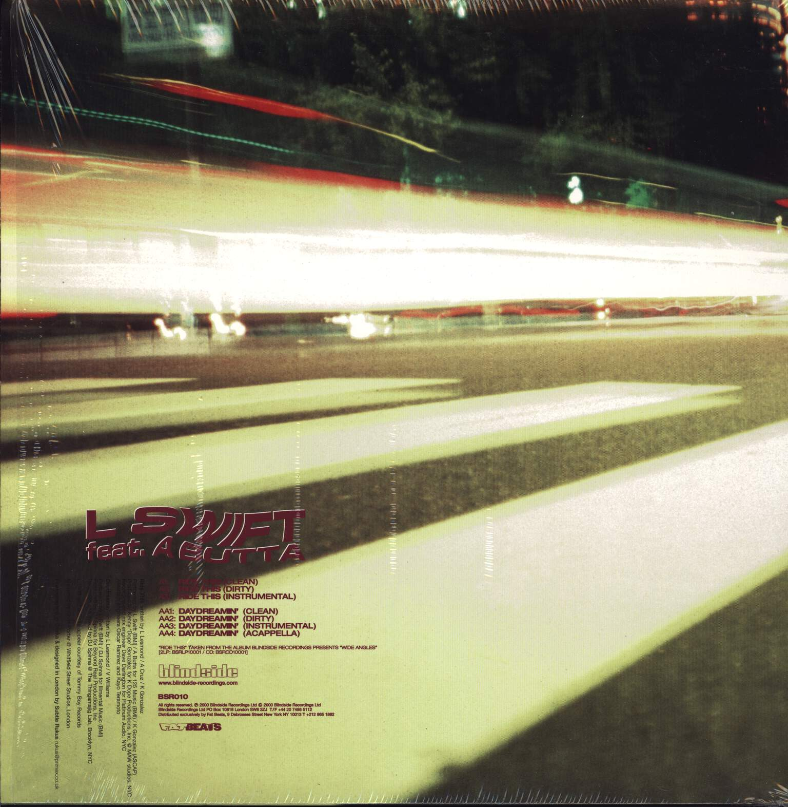 "L-Swift: Ride This, 12"" Maxi Single (Vinyl)"