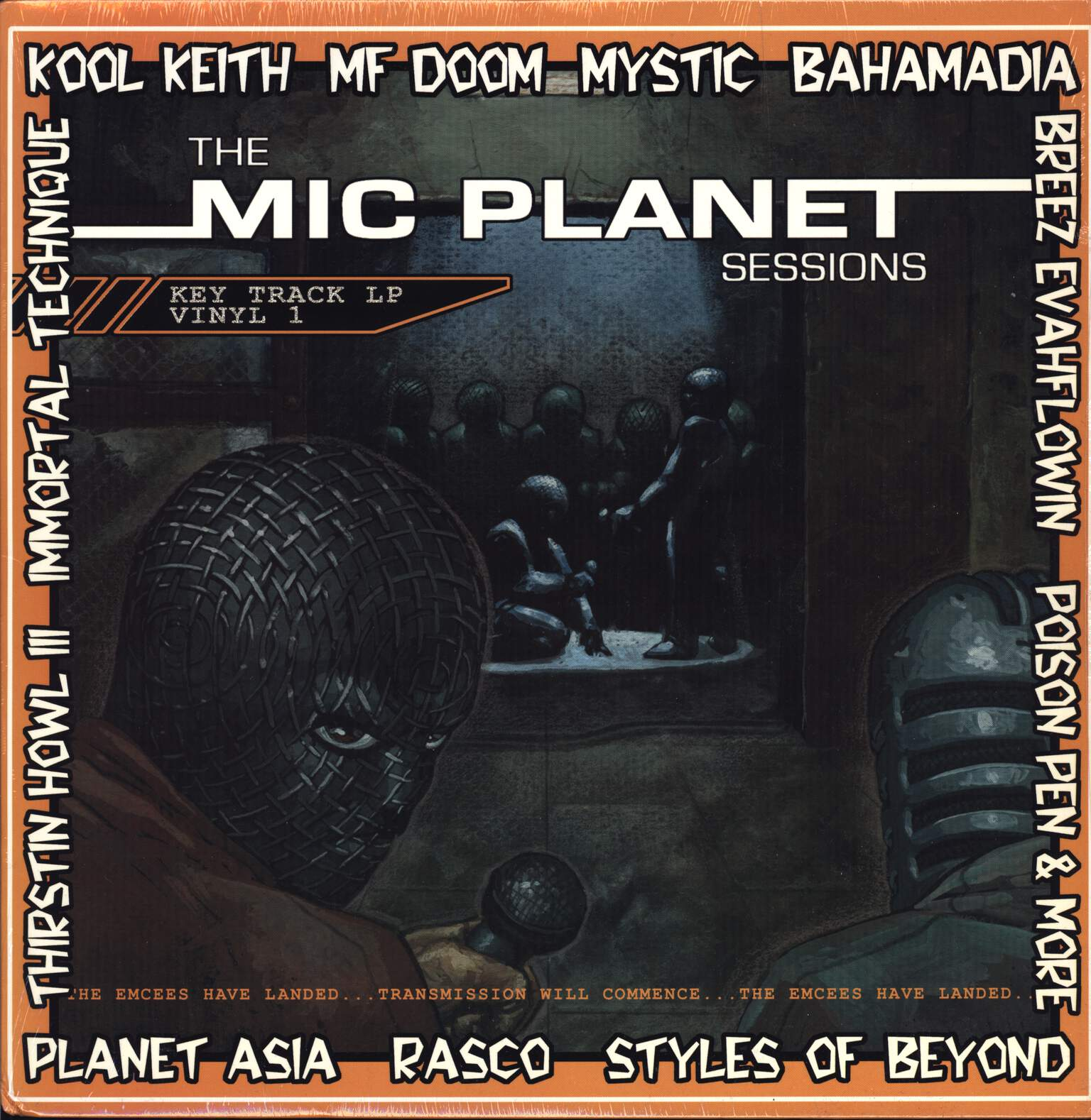 Various: The Mic Planet Sessions, LP (Vinyl)