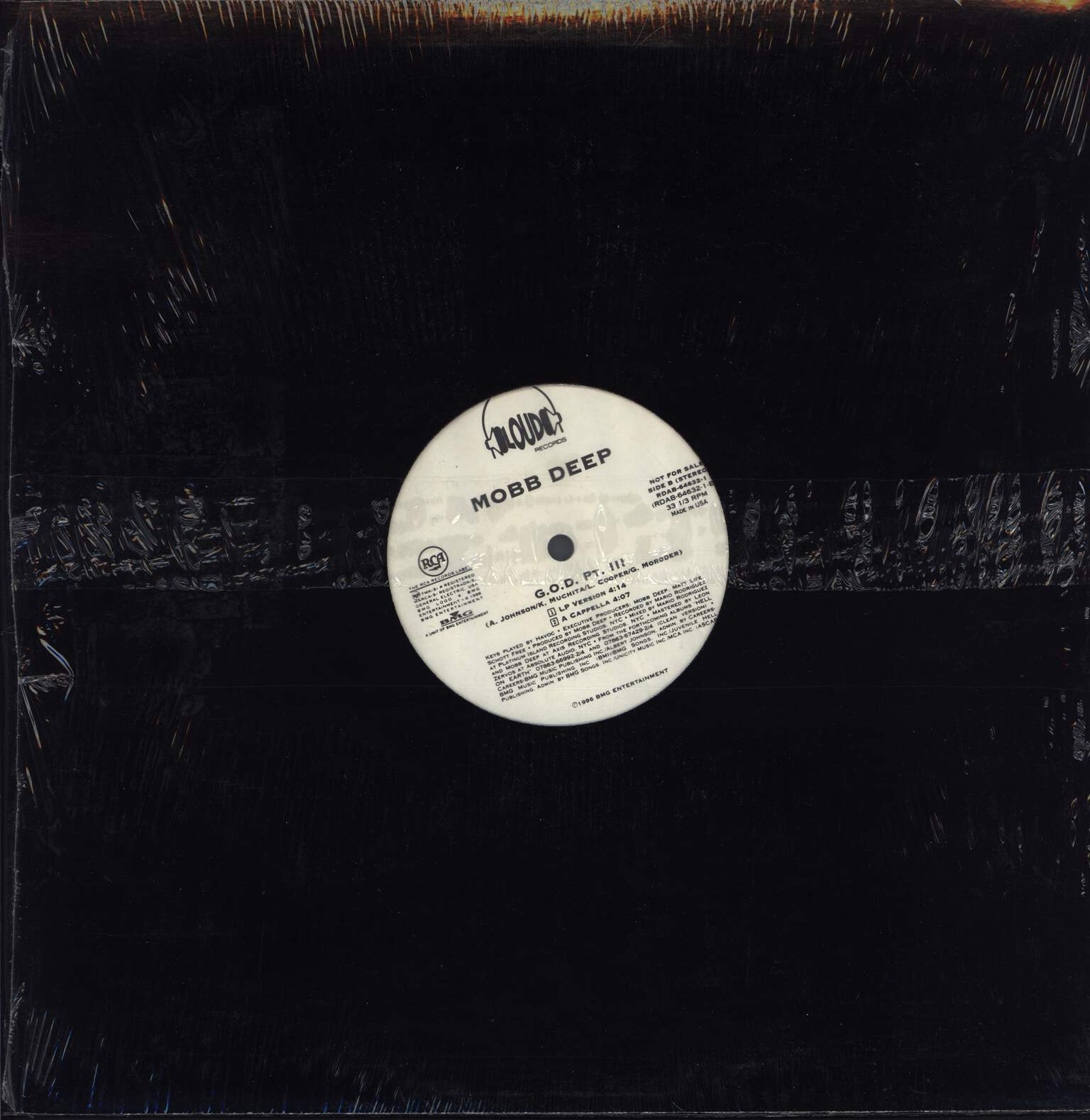 "Mobb Deep: G.O.D. Pt. III, 12"" Maxi Single (Vinyl)"