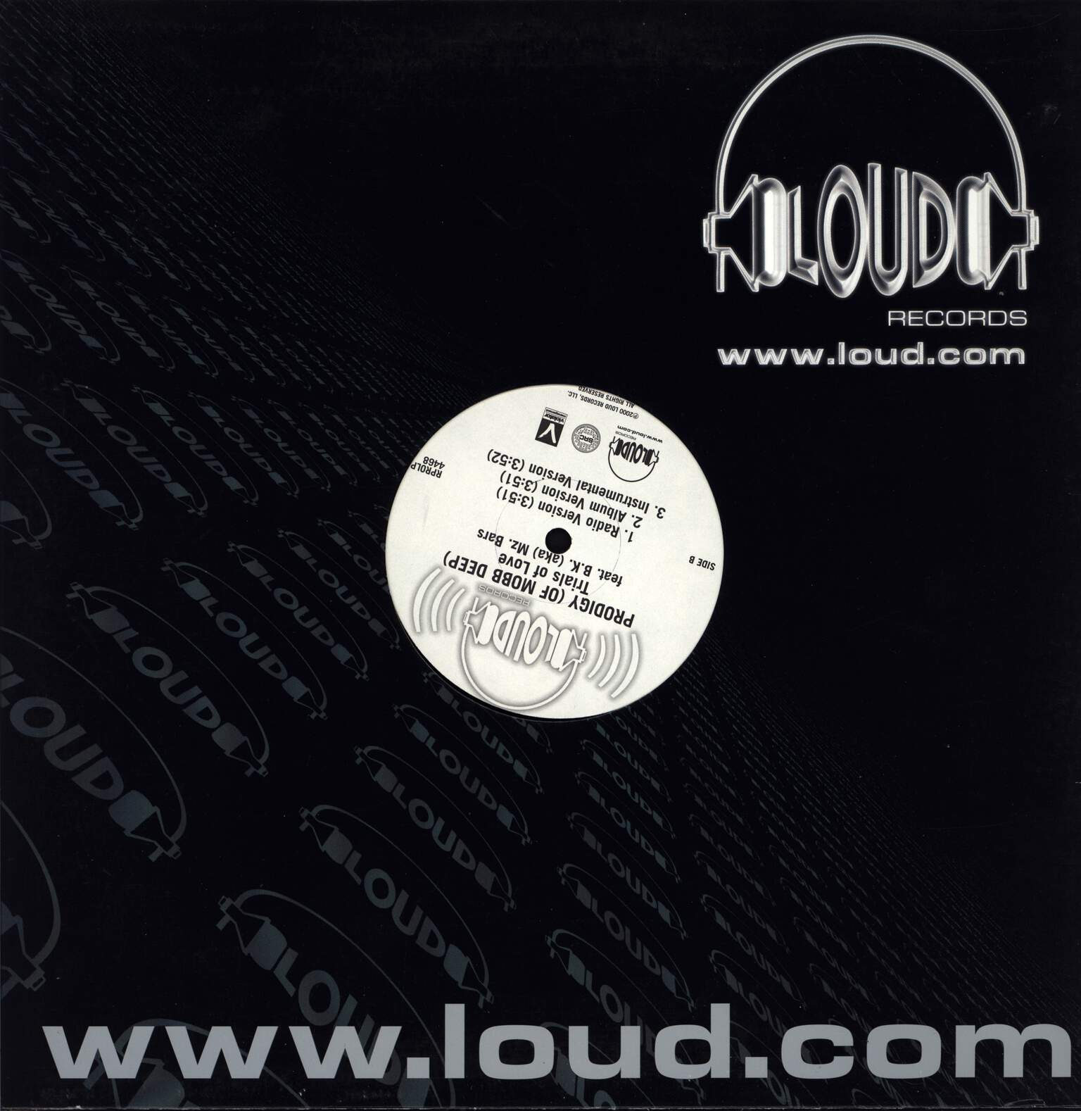 "Prodigy: Rock Dat / Trials Of Love, 12"" Maxi Single (Vinyl)"