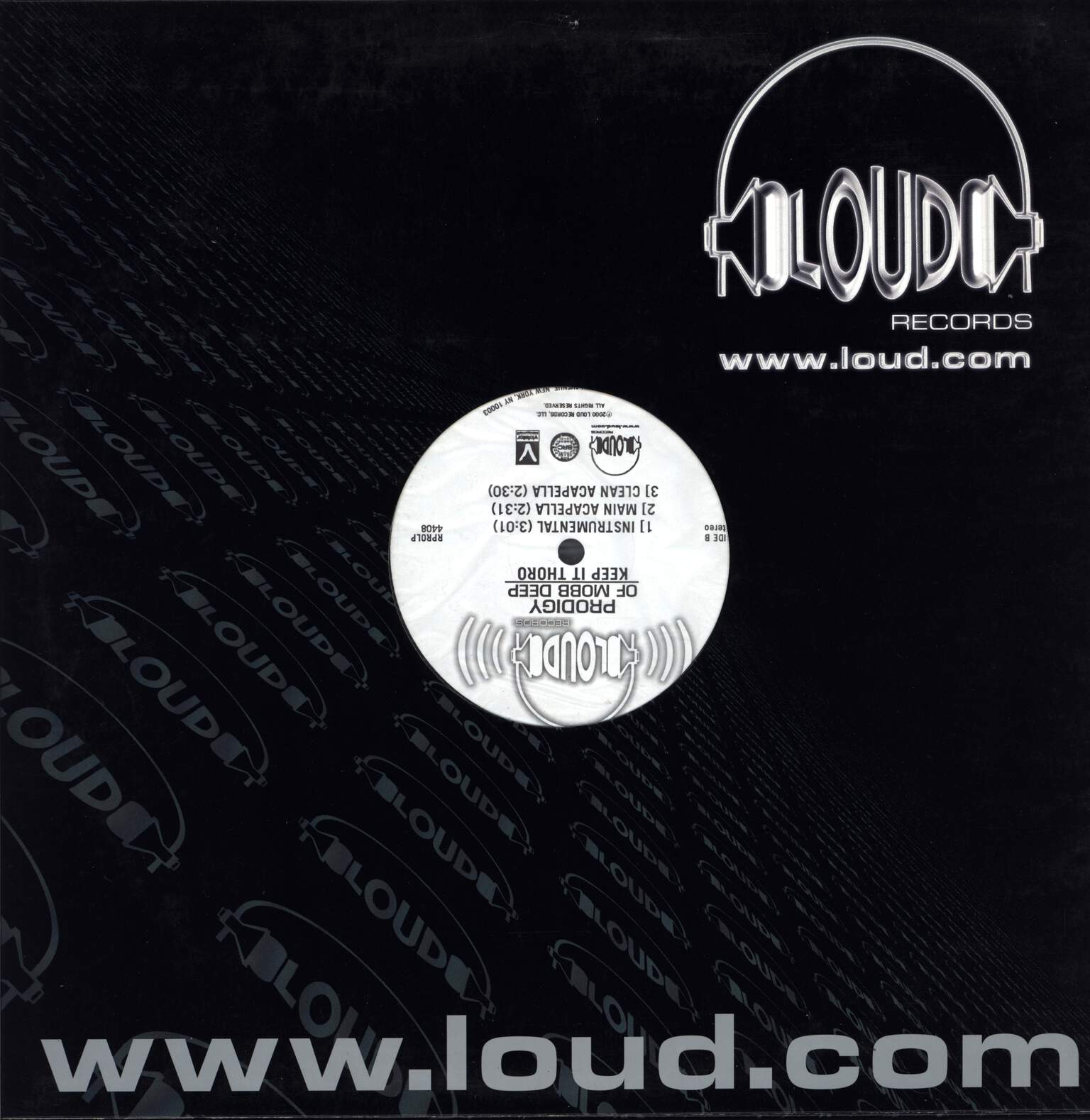 "Prodigy: Keep It Thoro, 12"" Maxi Single (Vinyl)"