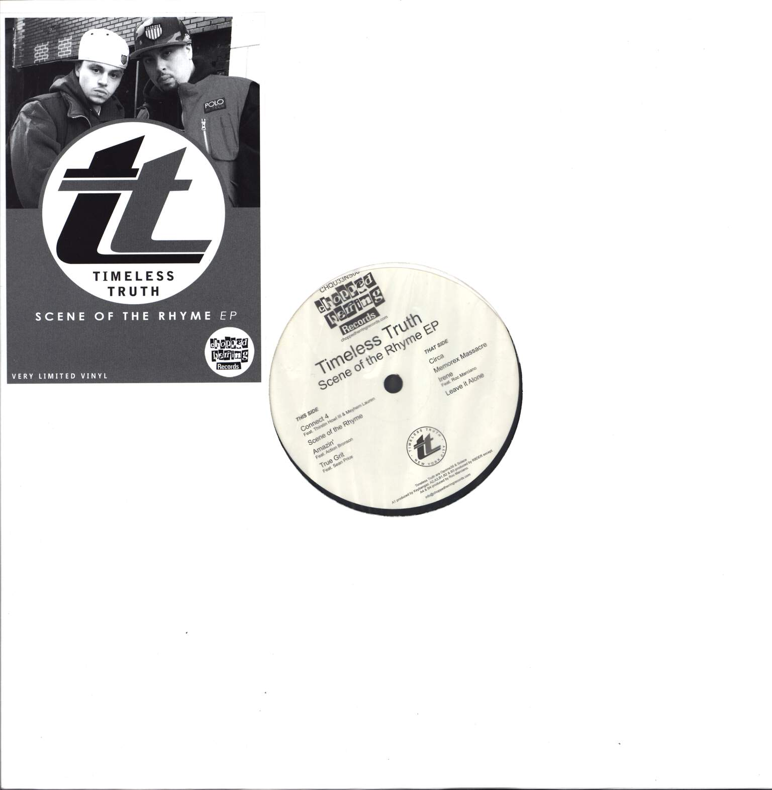 "Timeless Truth: Scene Of  The Rhyme EP, 12"" Maxi Single (Vinyl)"